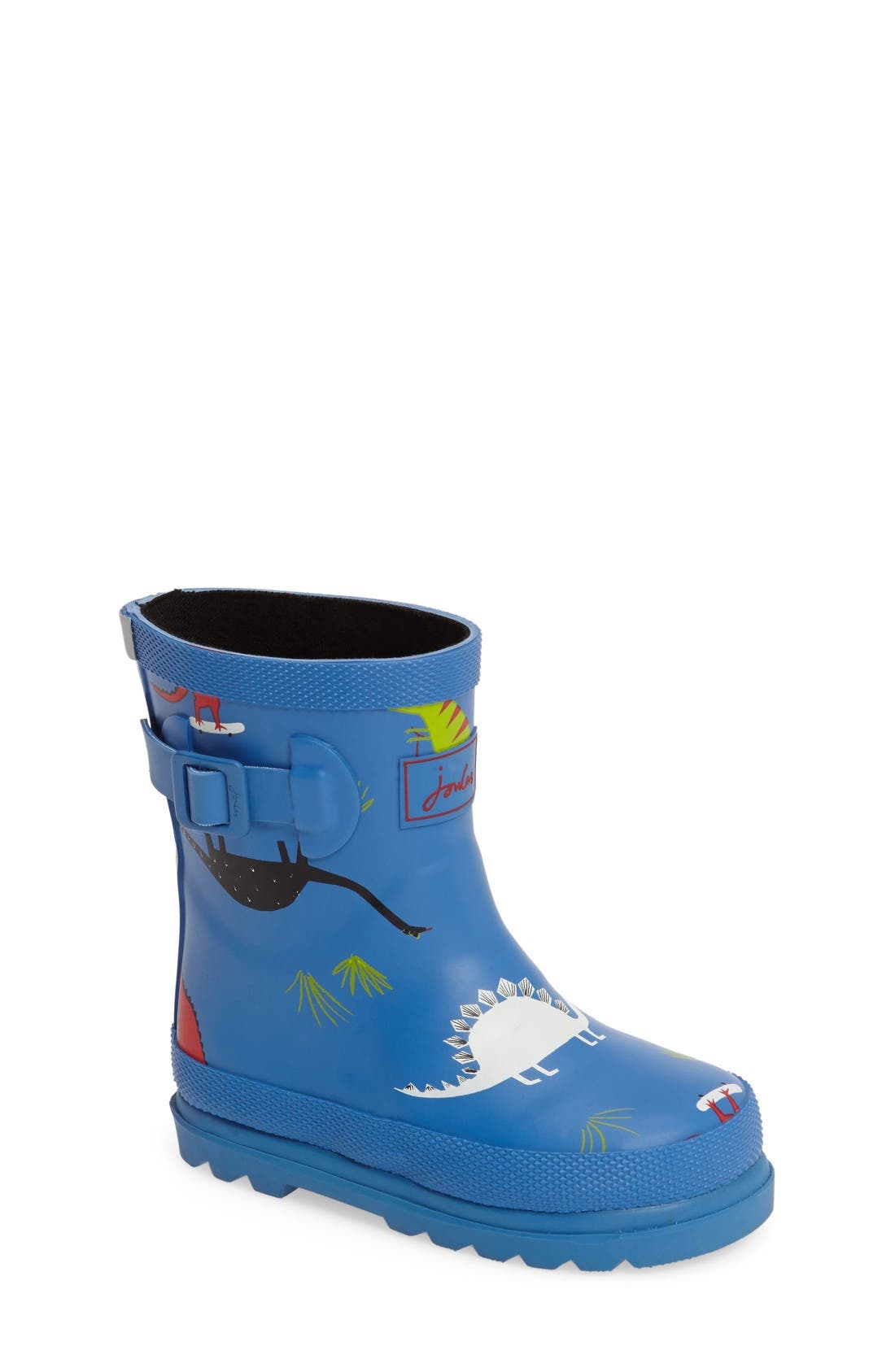 Joules Print Waterproof Rain Boot (Walker & Toddler)