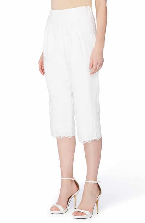 White Cropped Pants for Women: Jeans, Print, Capri & More   Nordstrom