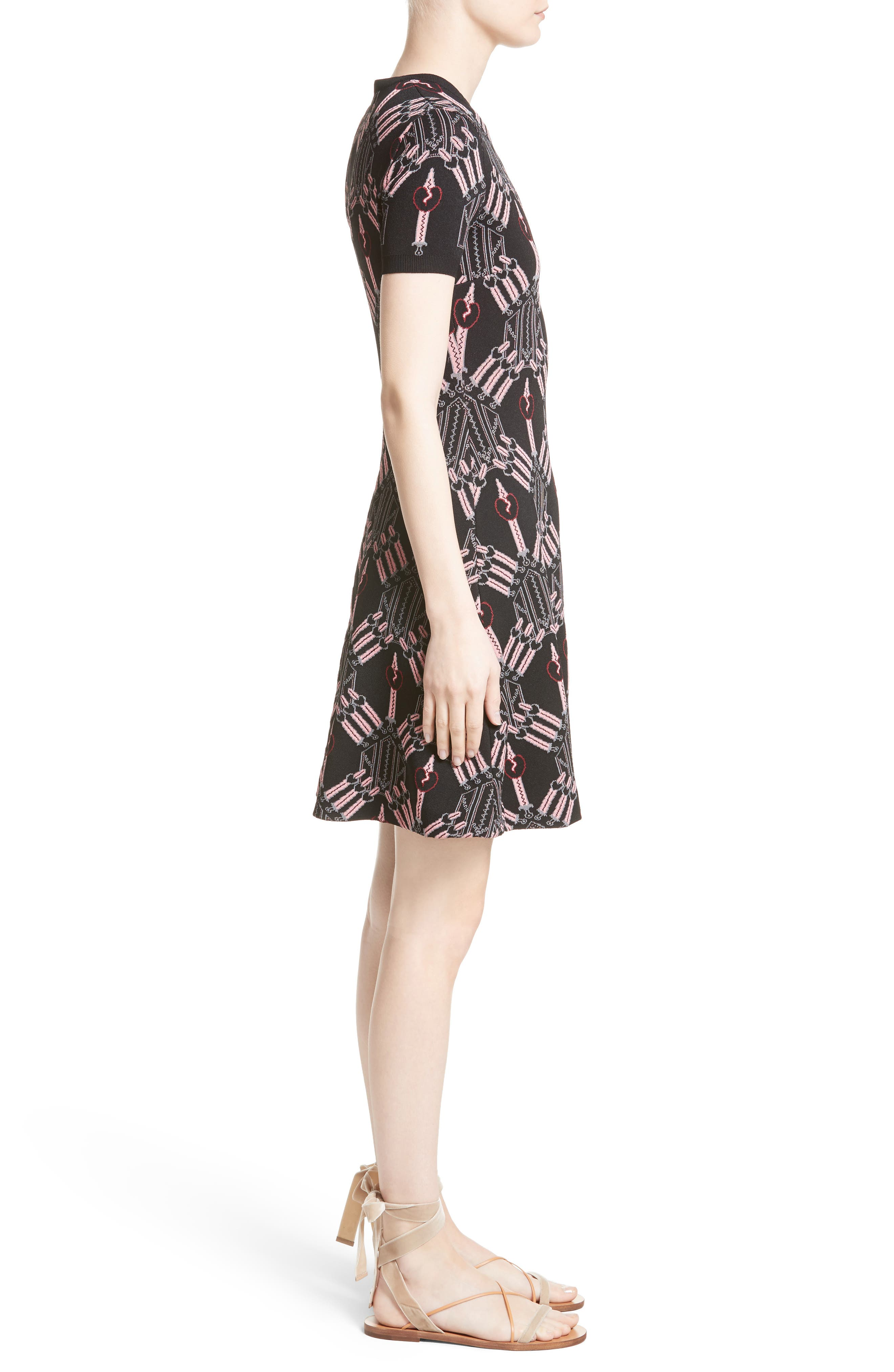 Alternate Image 5  - Valentino Love Blade Fit & Flare Dress