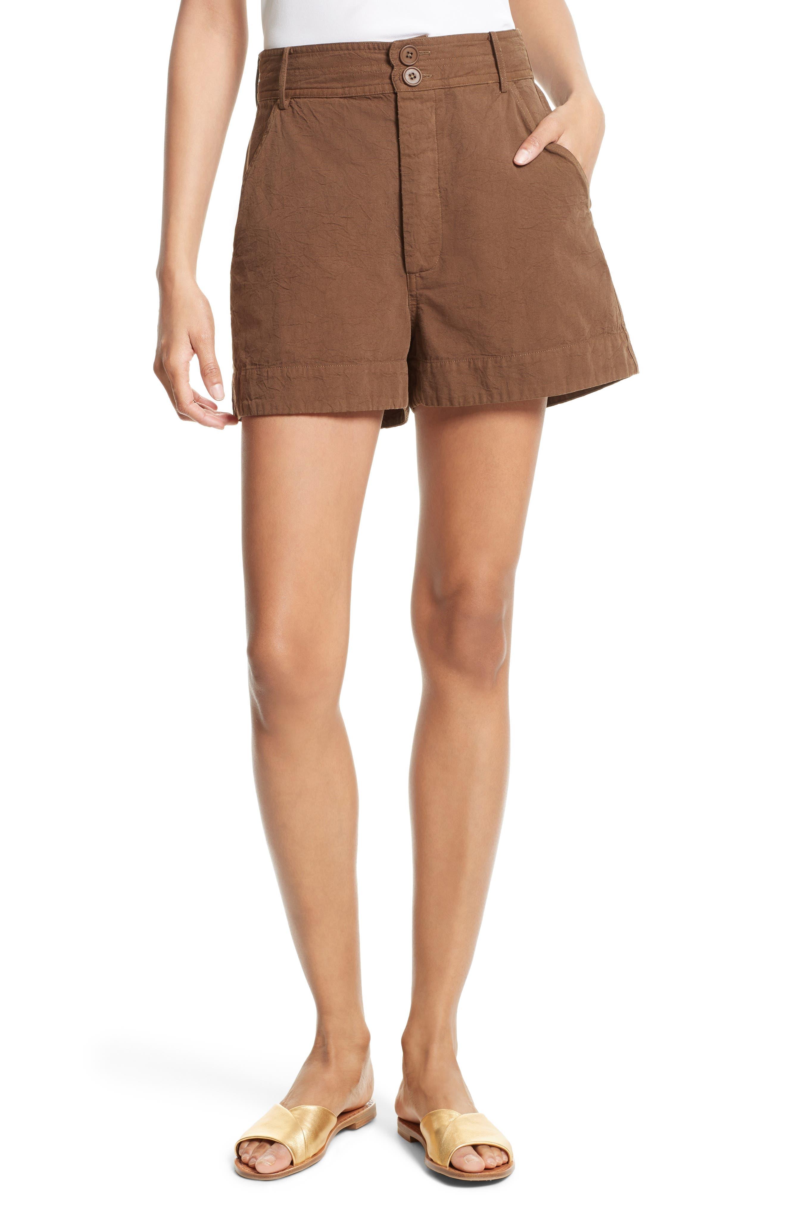 Main Image - Apiece Apart Merida Cotton Shorts