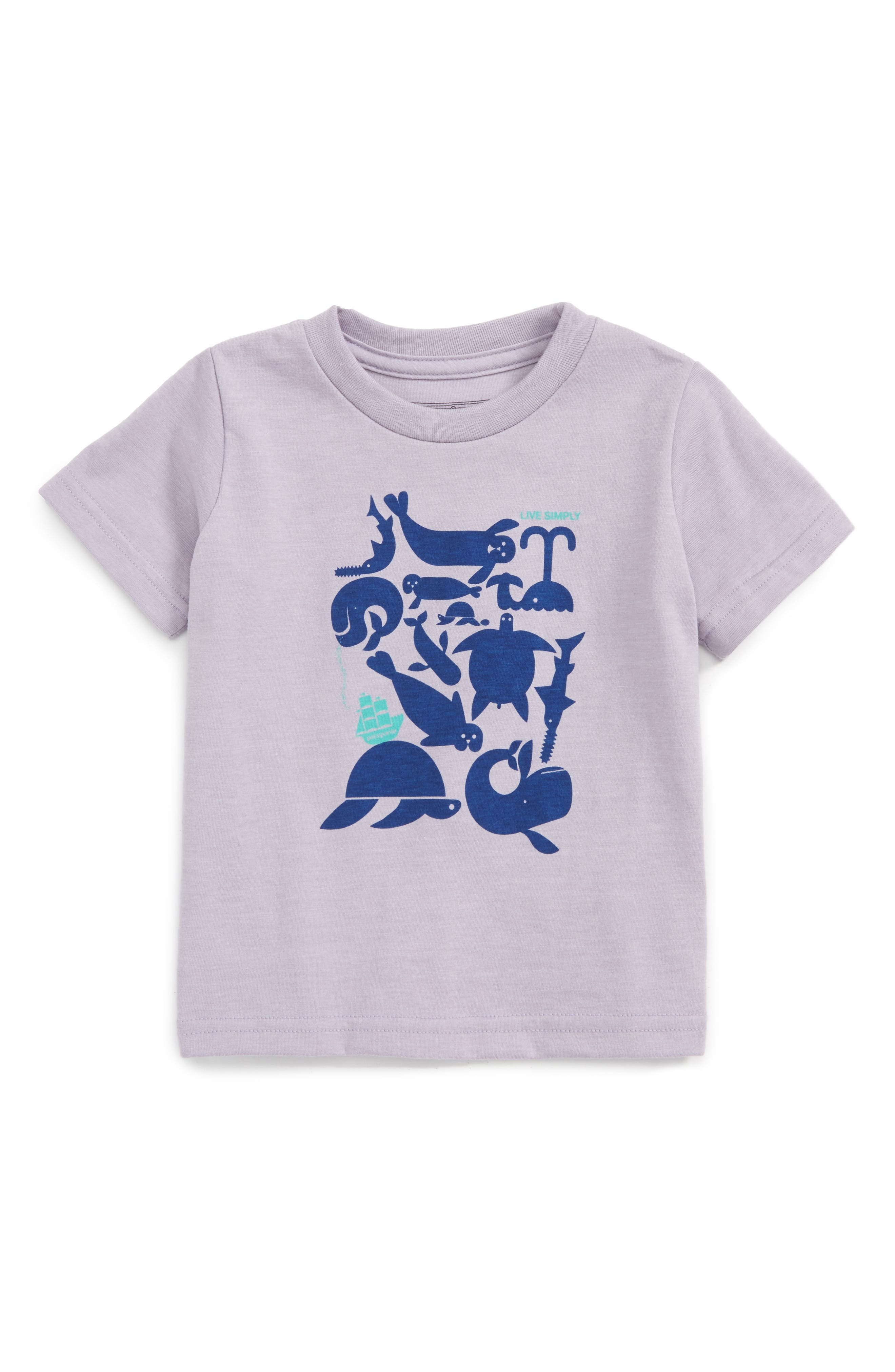 Patagonia Sea Buds Graphic Tee (Baby Girls)