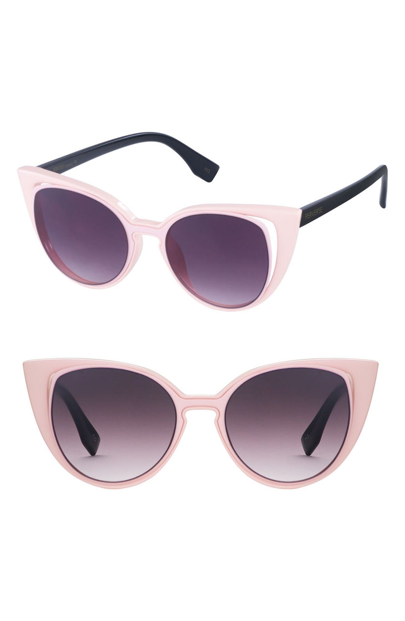 Alternate Image 1 Selected - PERVERSE Saga 55mm Cat Eye Sunglasses