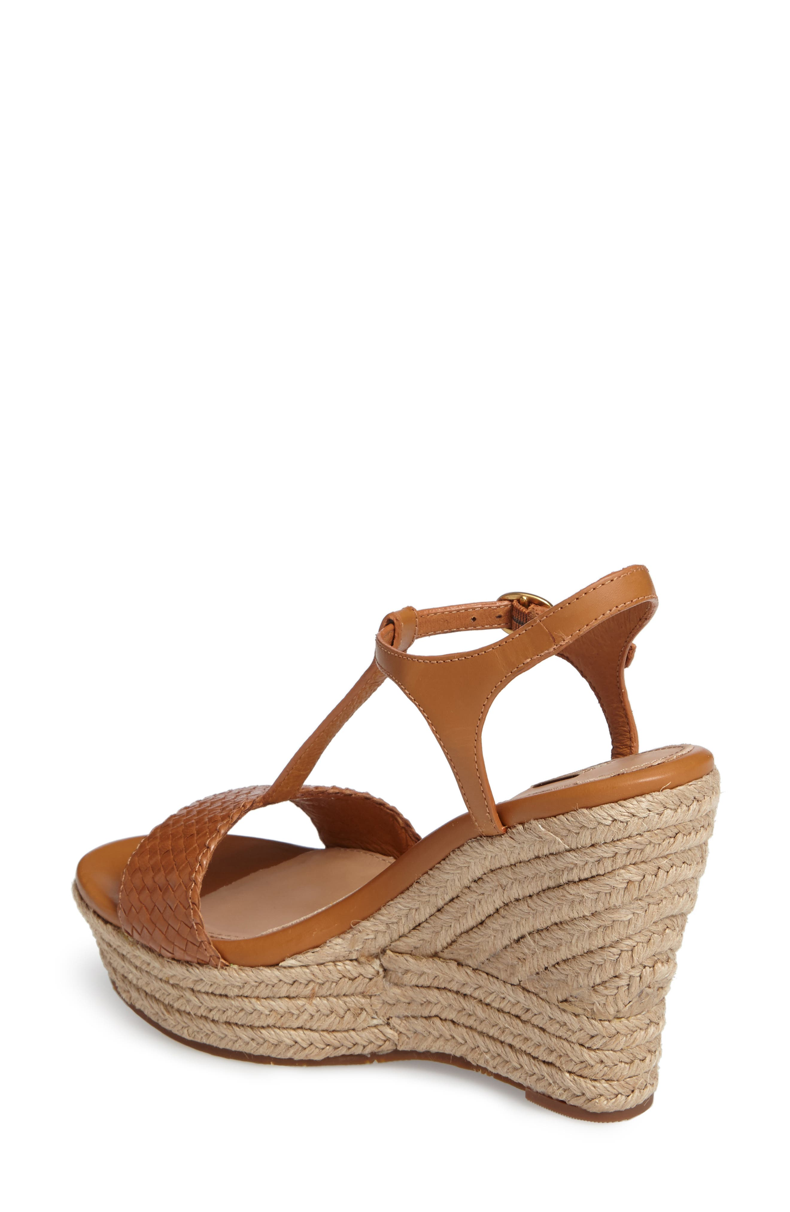Alternate Image 2  - UGG® Fitchie II Espadrille Wedge Sandal (Women)