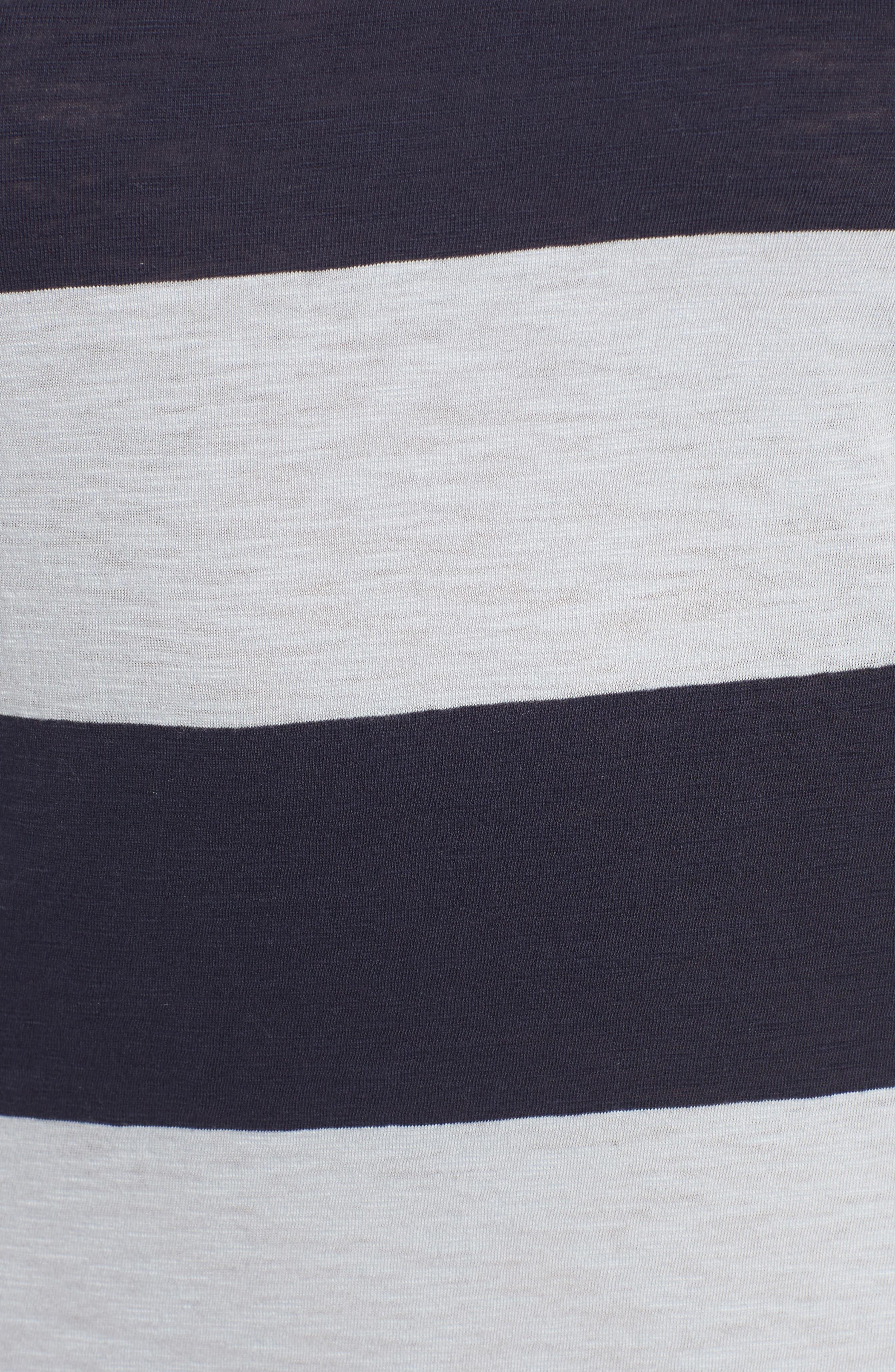 Alternate Image 5  - Press Stripe Racerback Maxi Dress