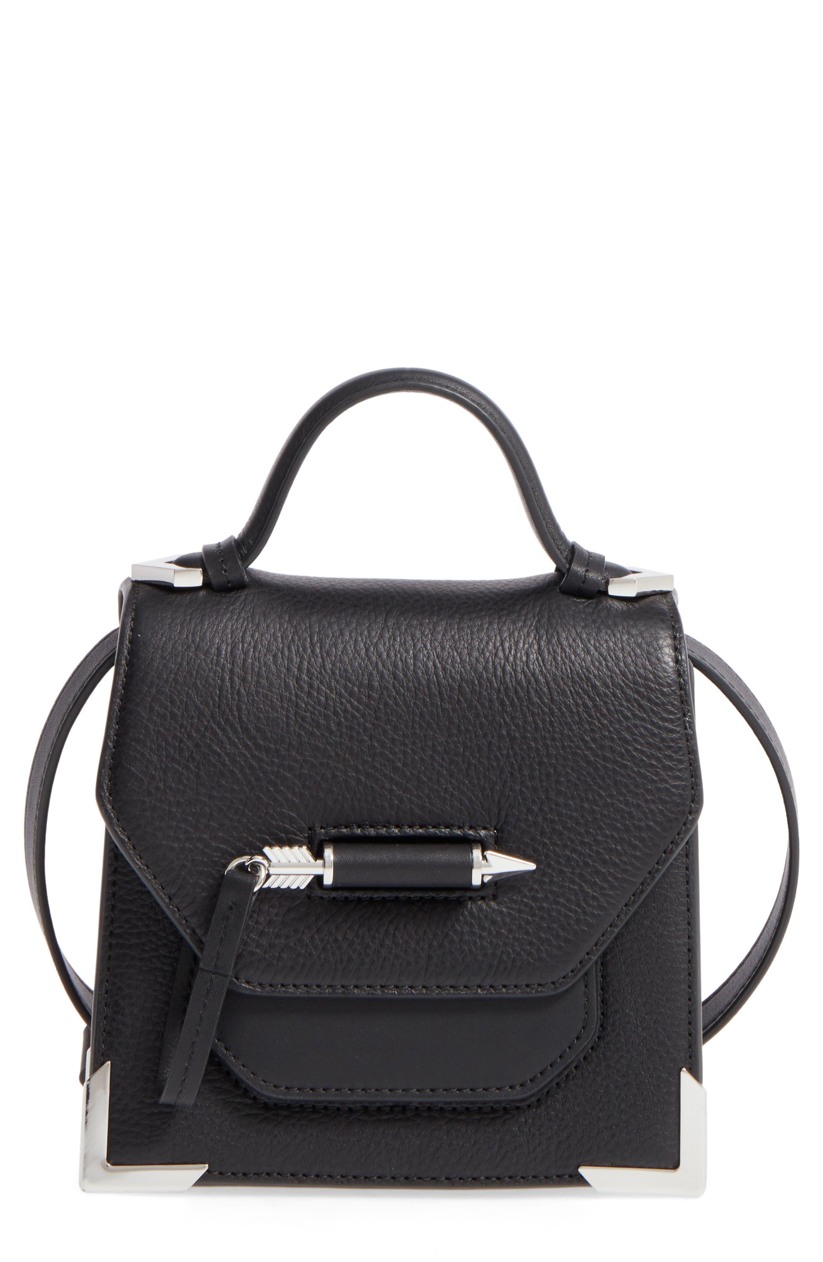 Main Image - Mackage Mini Rubie Leather Shoulder Bag