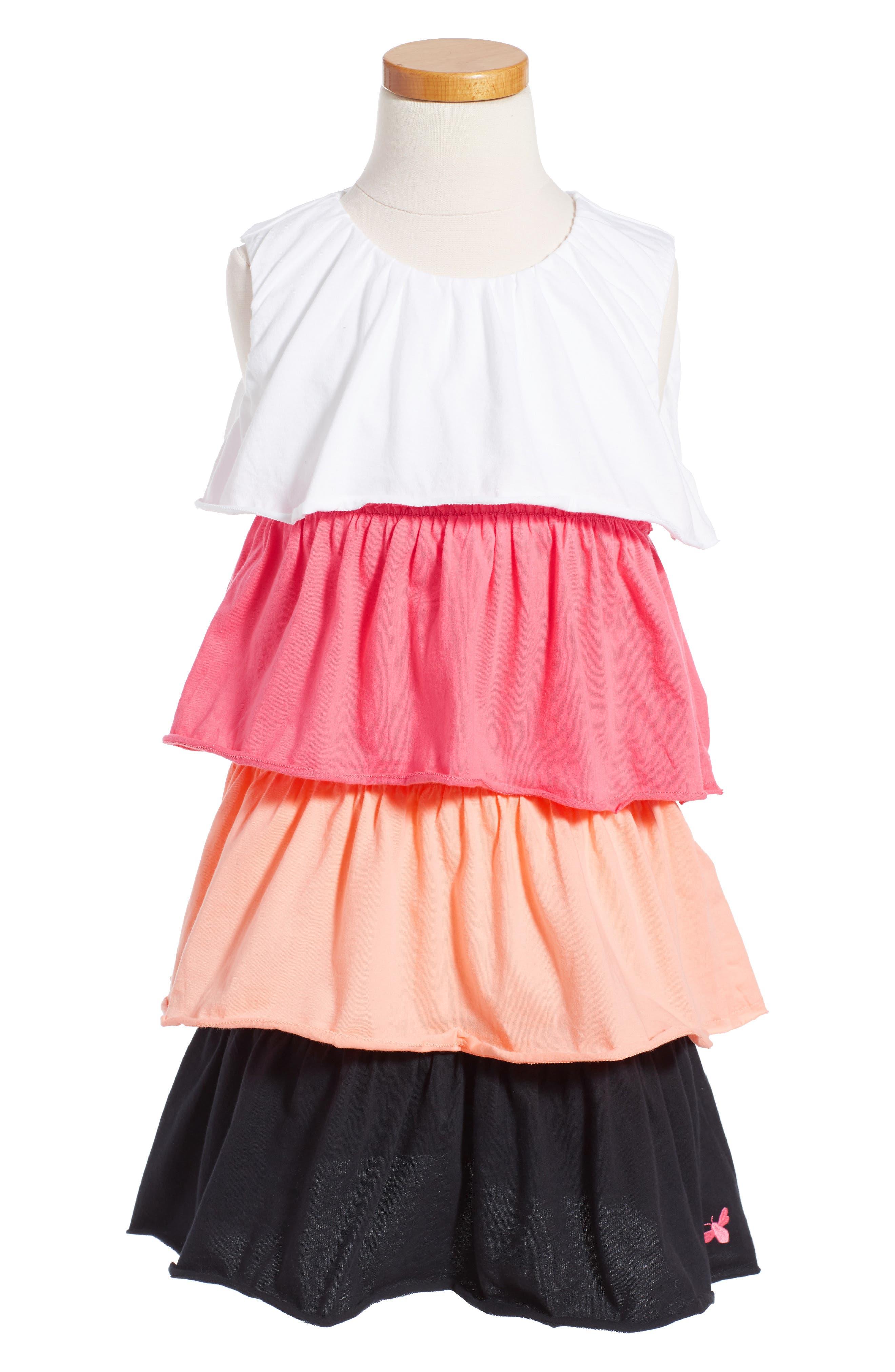 Burt's Bees Baby Organic Cotton Tiered Dress (Toddler Girls & Little Girls)