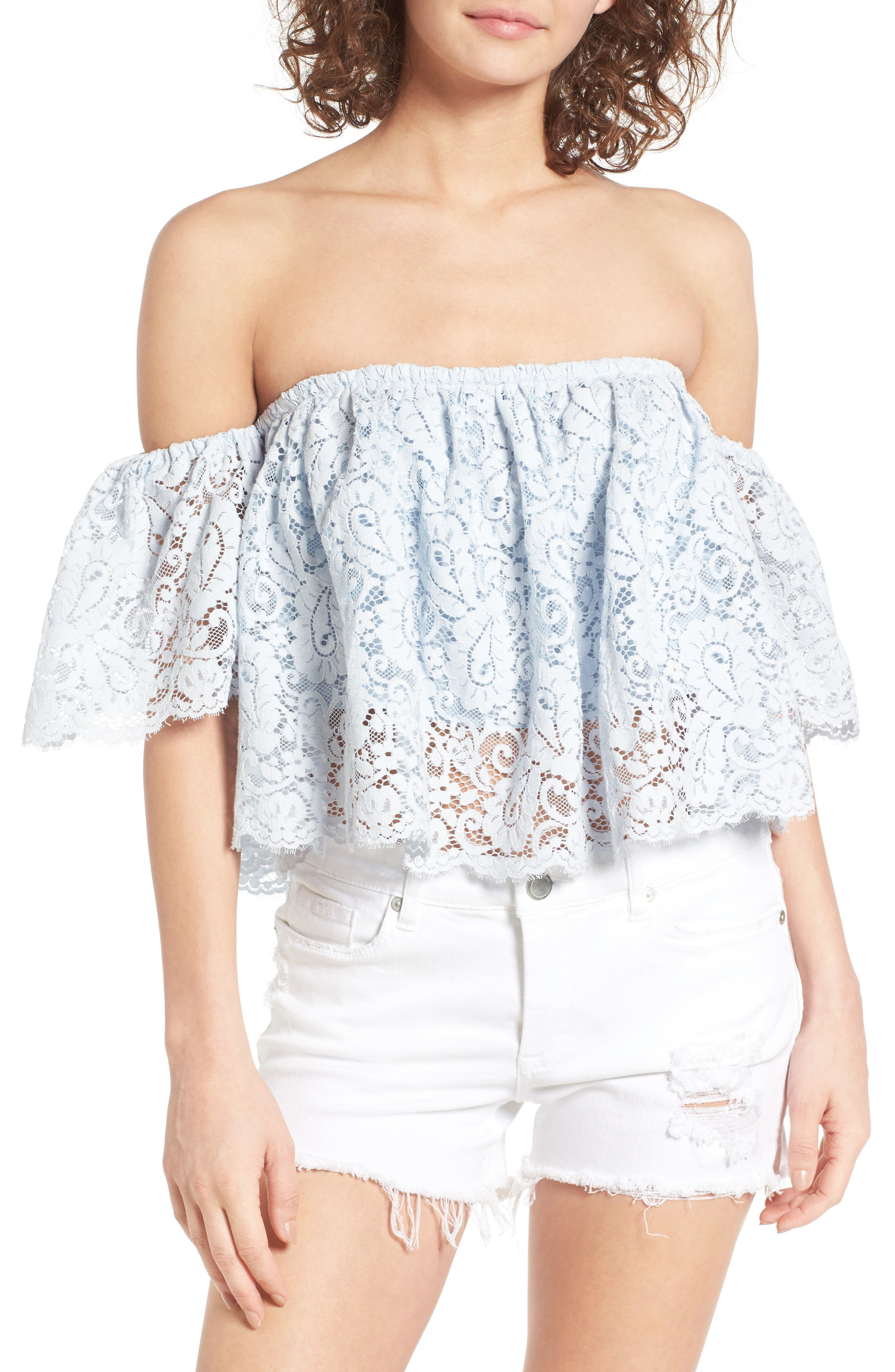 Lovers + Friends Bayside Off the Shoulder Top