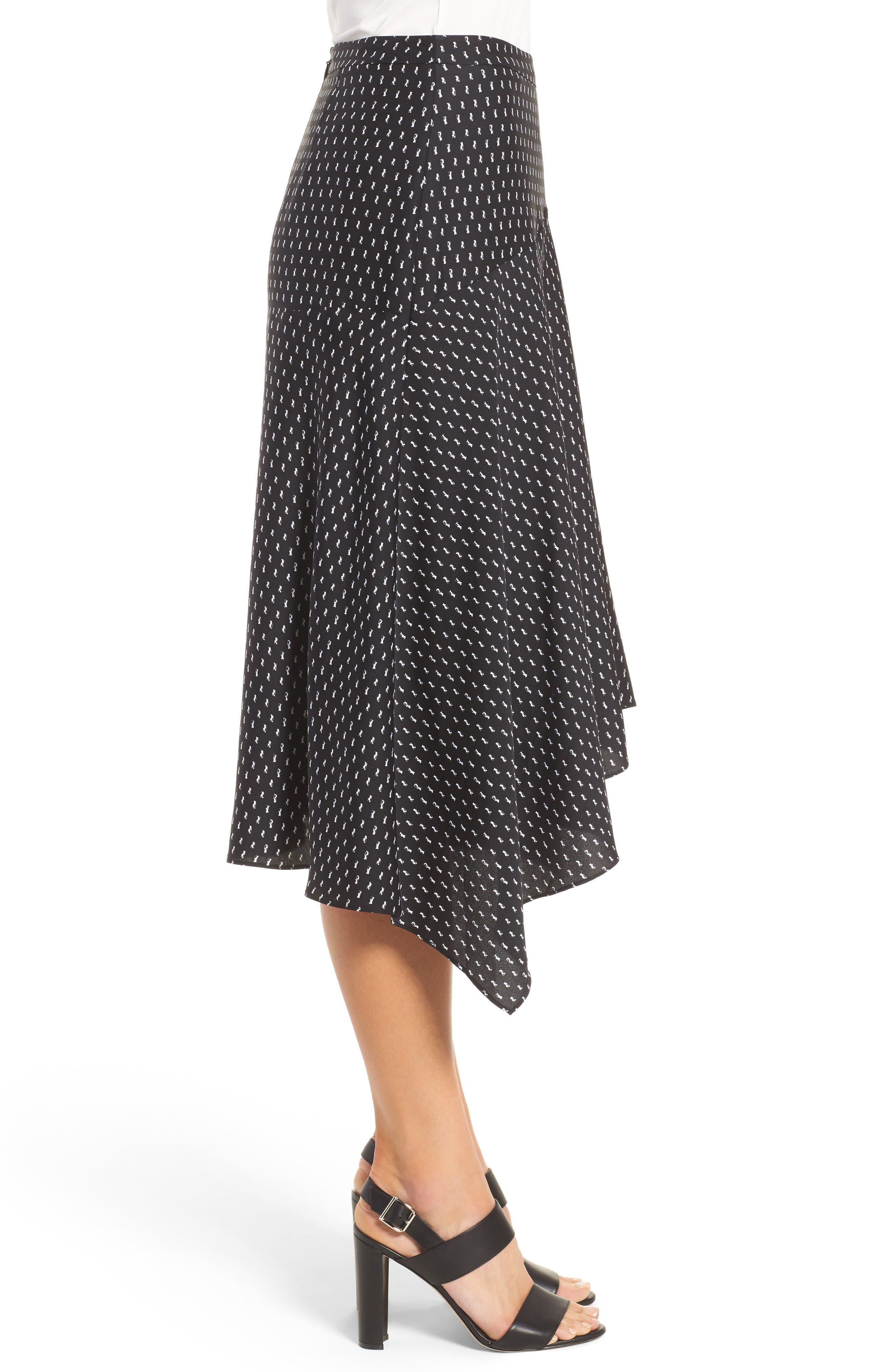 Alternate Image 4  - Classiques Entier® Stretch Silk Midi Skirt