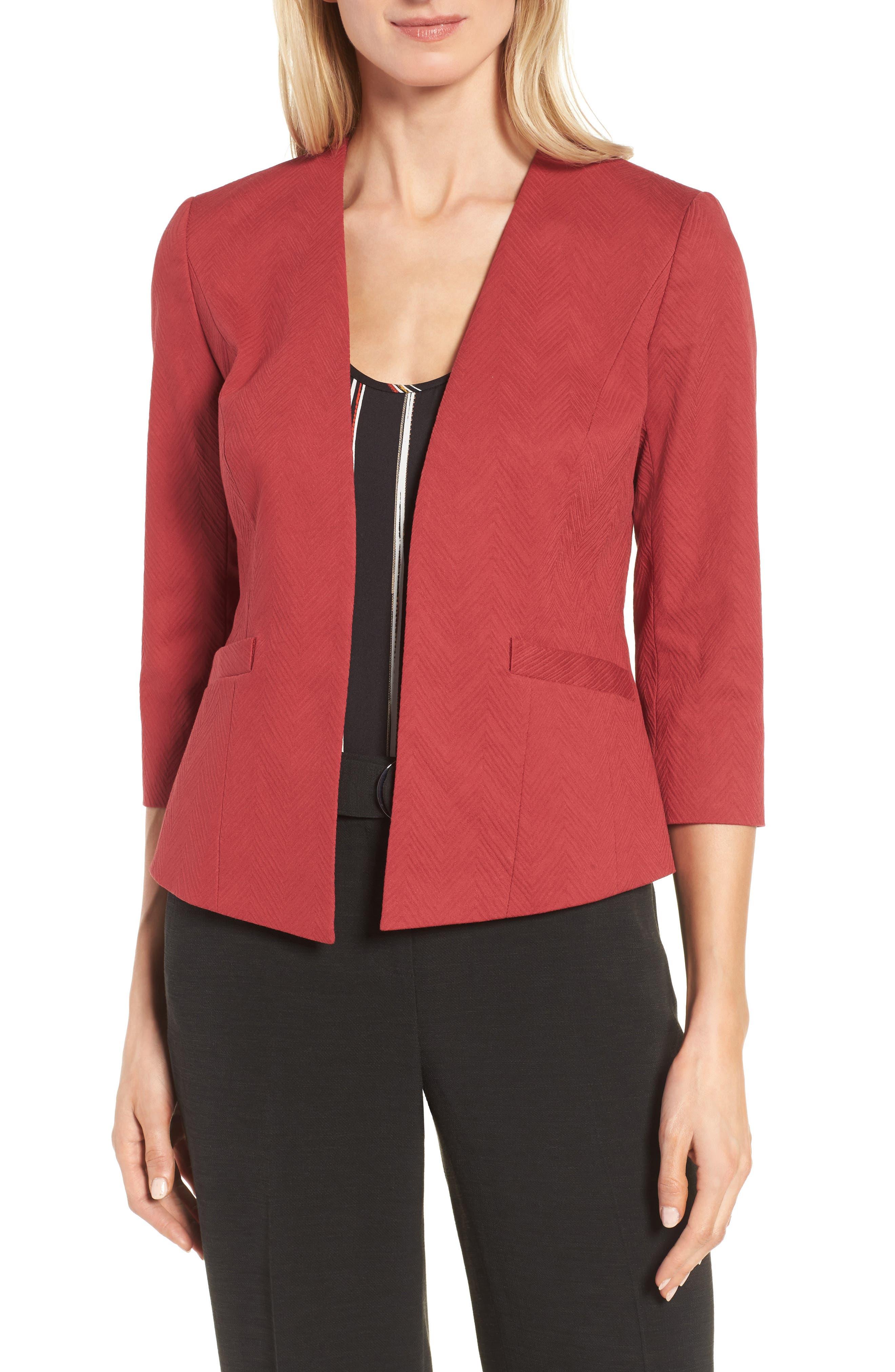 Classiques Entier® Crop Stretch Cotton Jacket