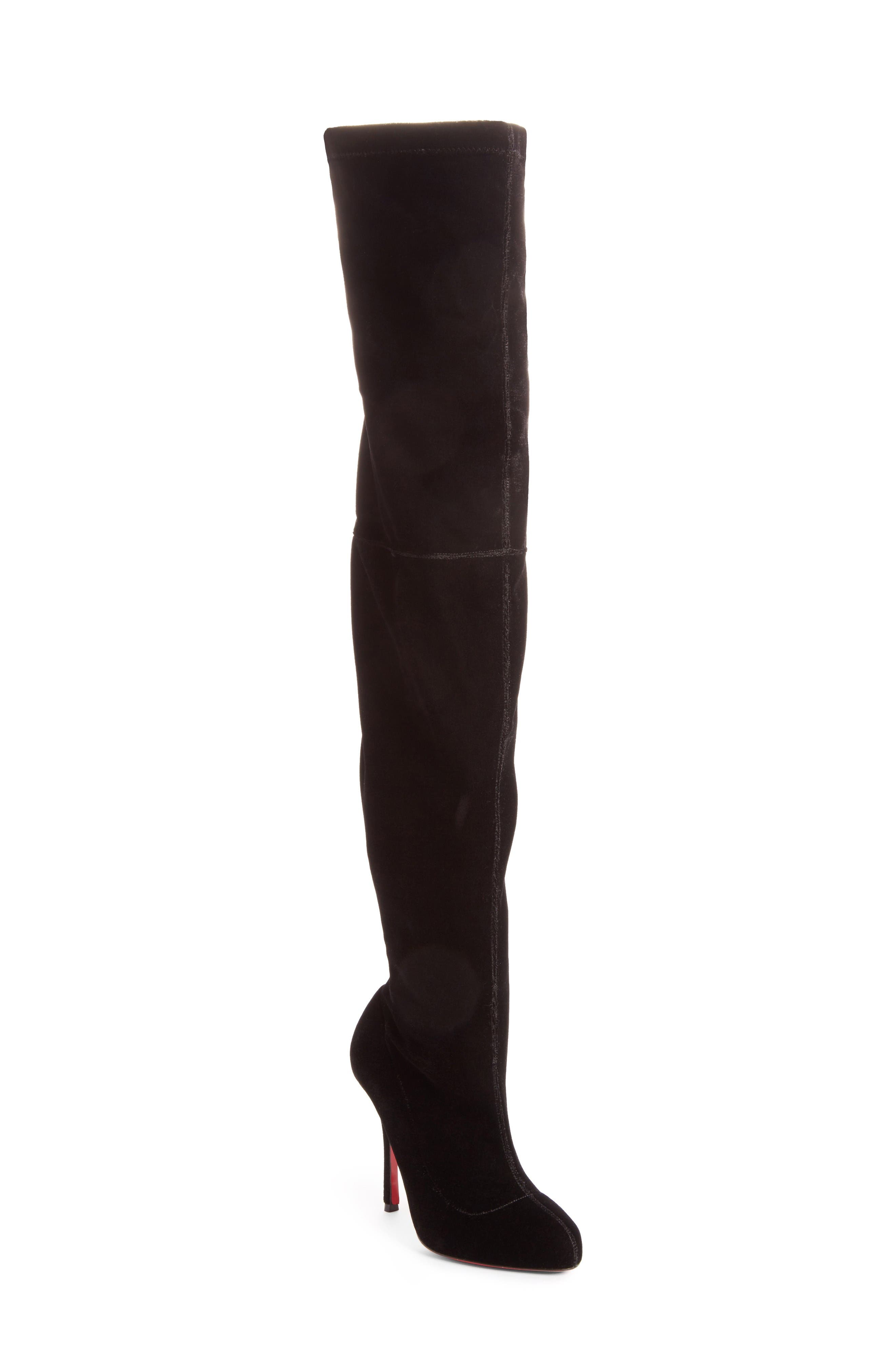 Christian Louboutin Classe Over the Knee Boot (Women)