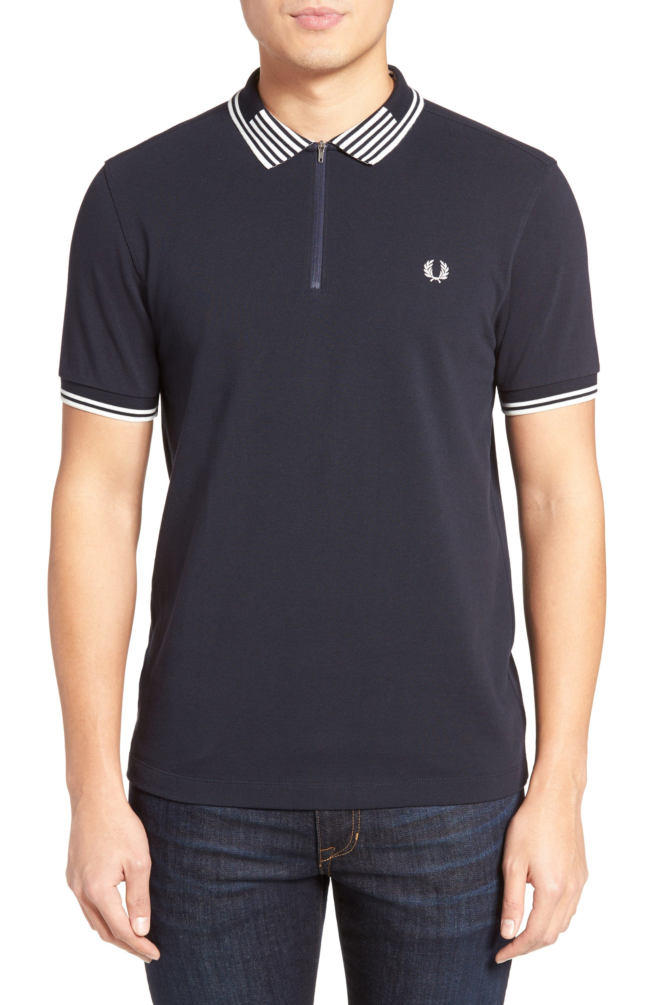 Fred Perry Zip Piqué Polo