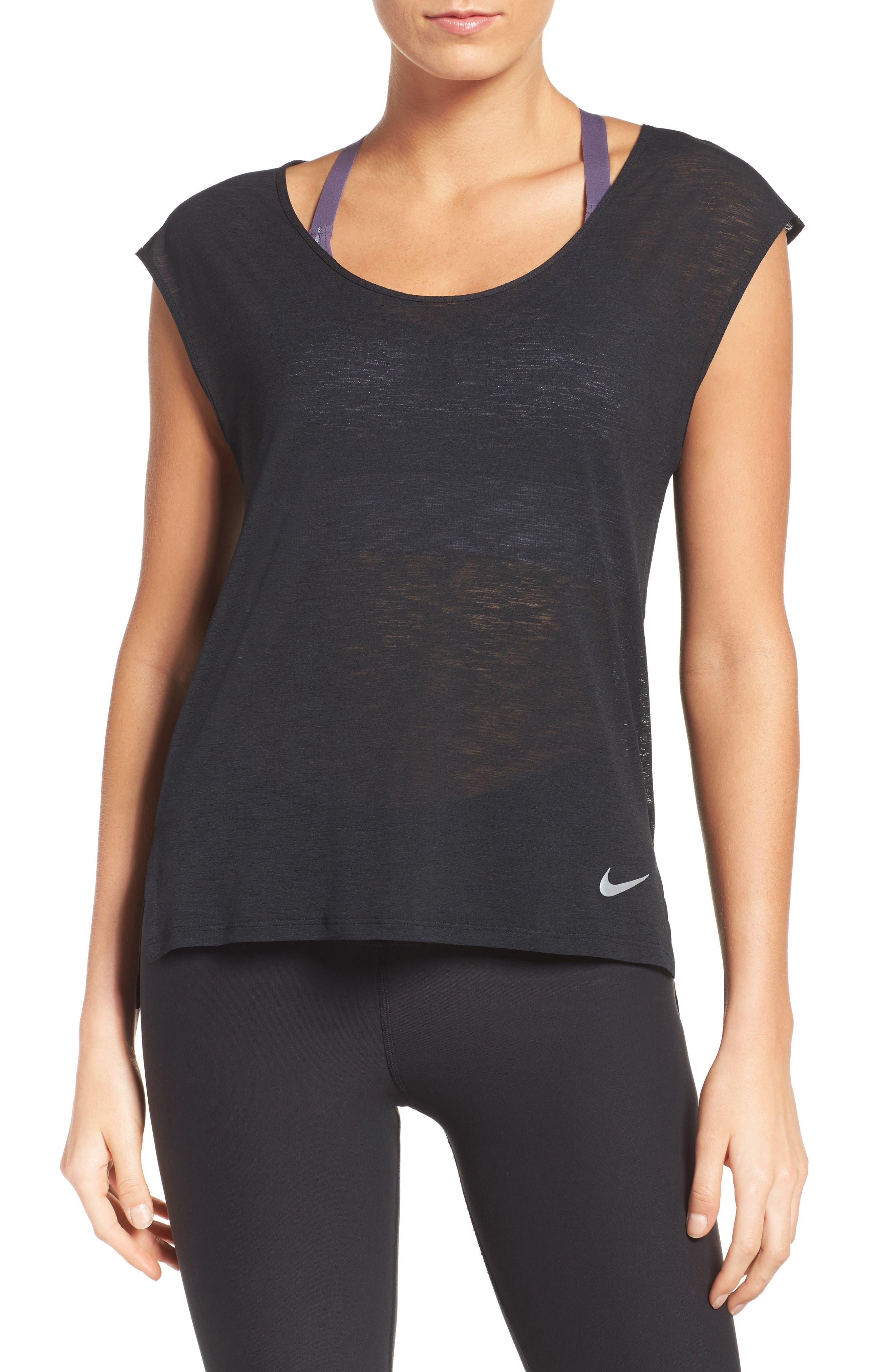 Nike Breathe Running Tee