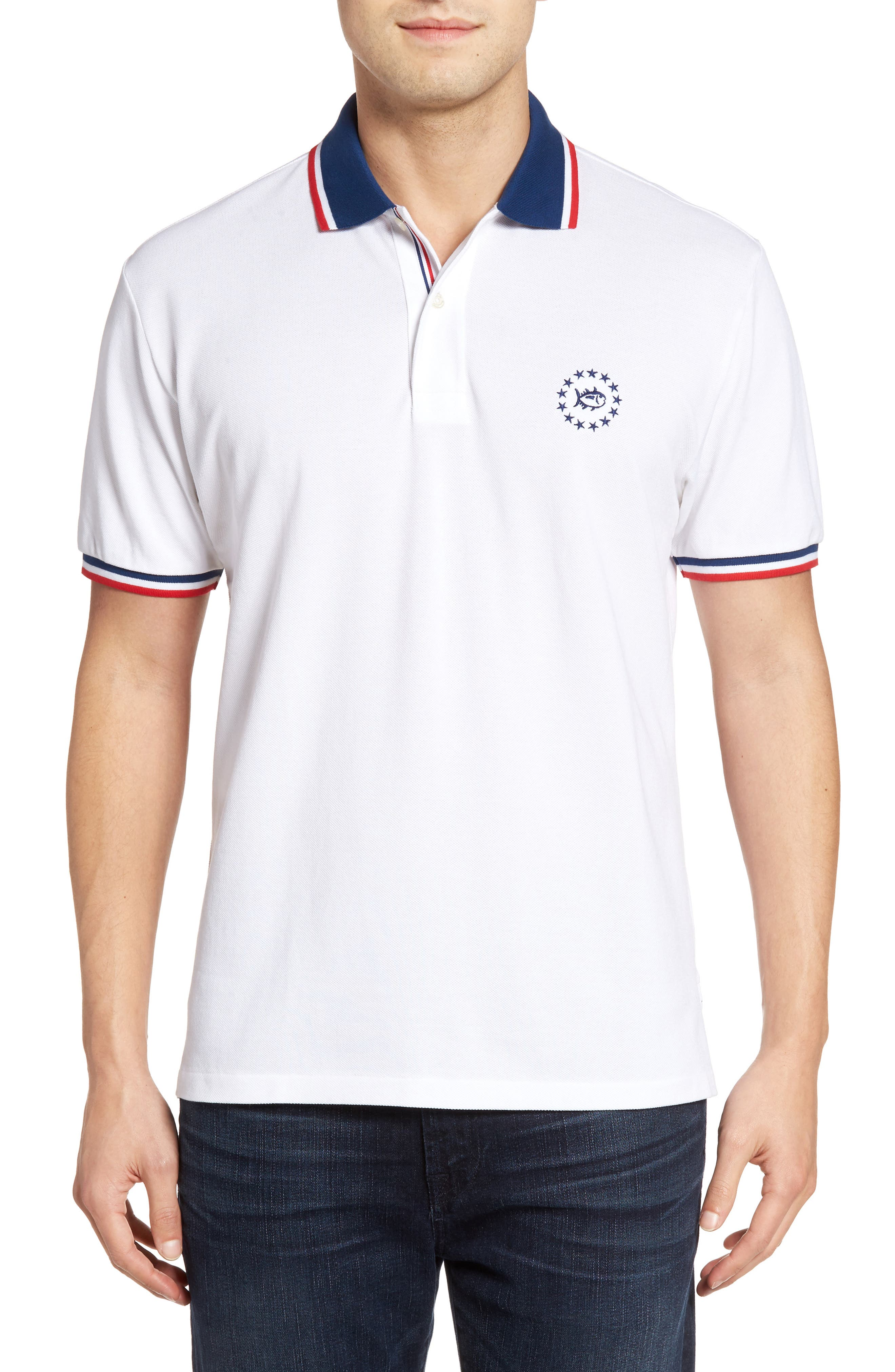 Southern Tide Front Runner Polo