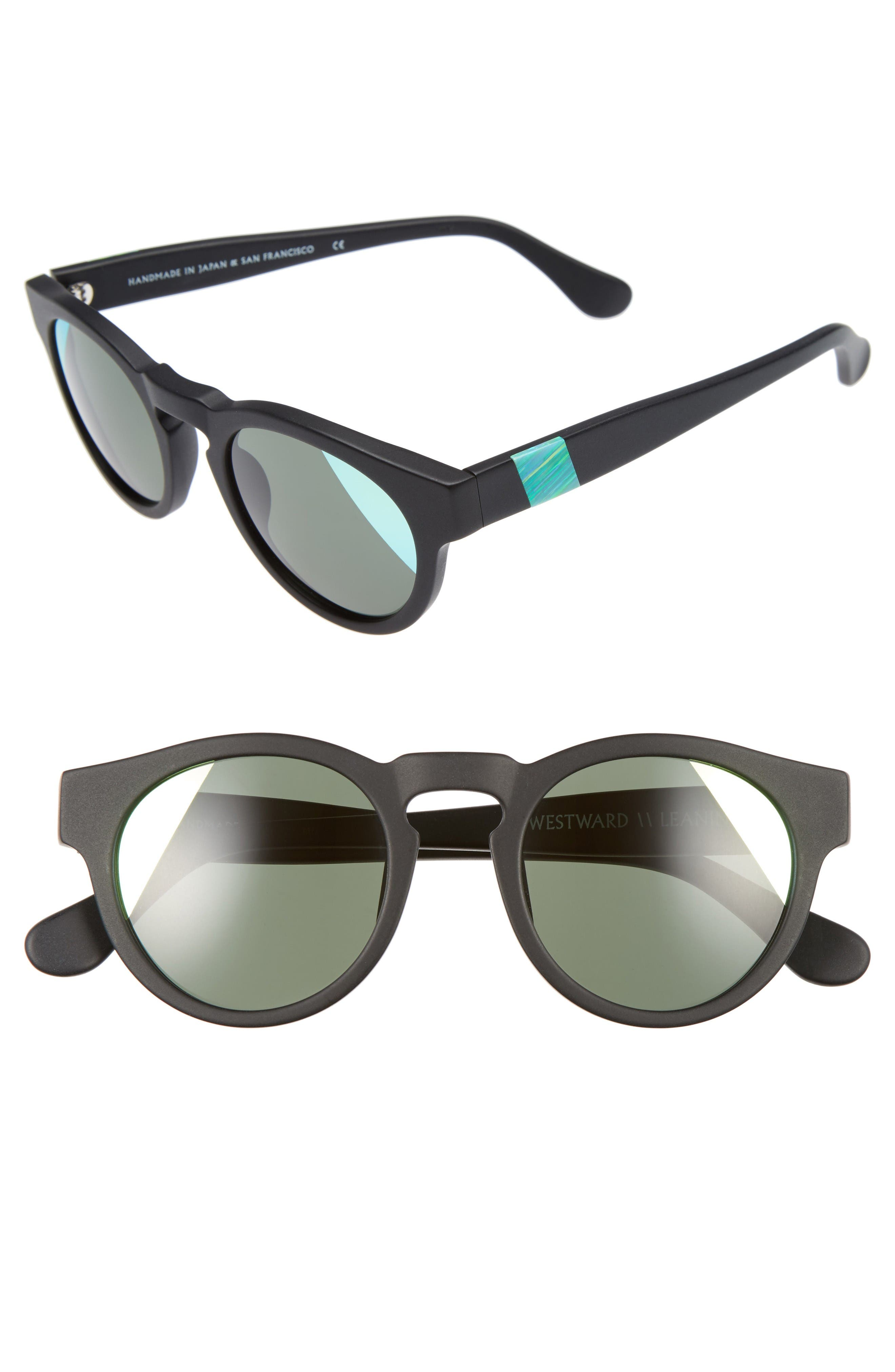 Main Image - Westward Leaning 'Voyager' 48mm Sunglasses