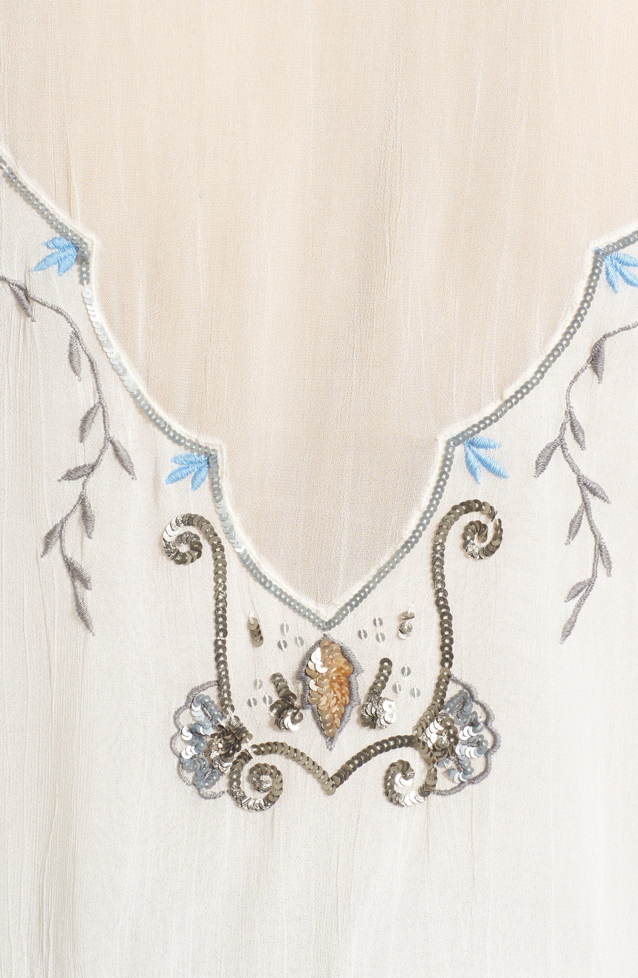 Alternate Image 6  - Somedays Lovin Marigold Embellished Top