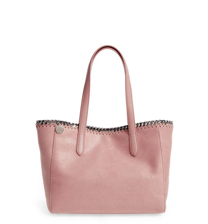 Small Falabella Shaggy Deer Faux Leather Tote STELLA MCCARTNEY