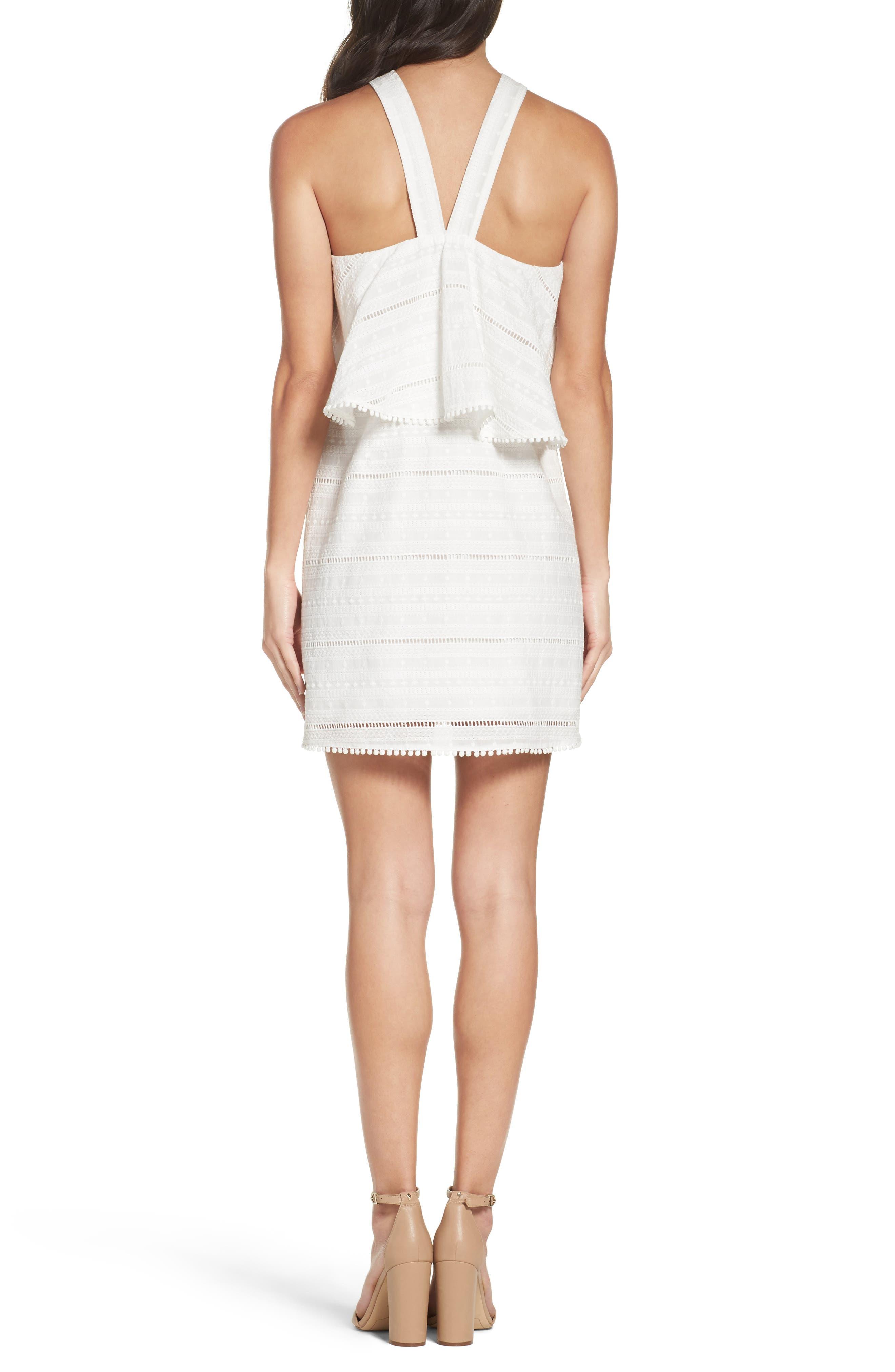 Alternate Image 2  - Chelsea28 Popover Dress