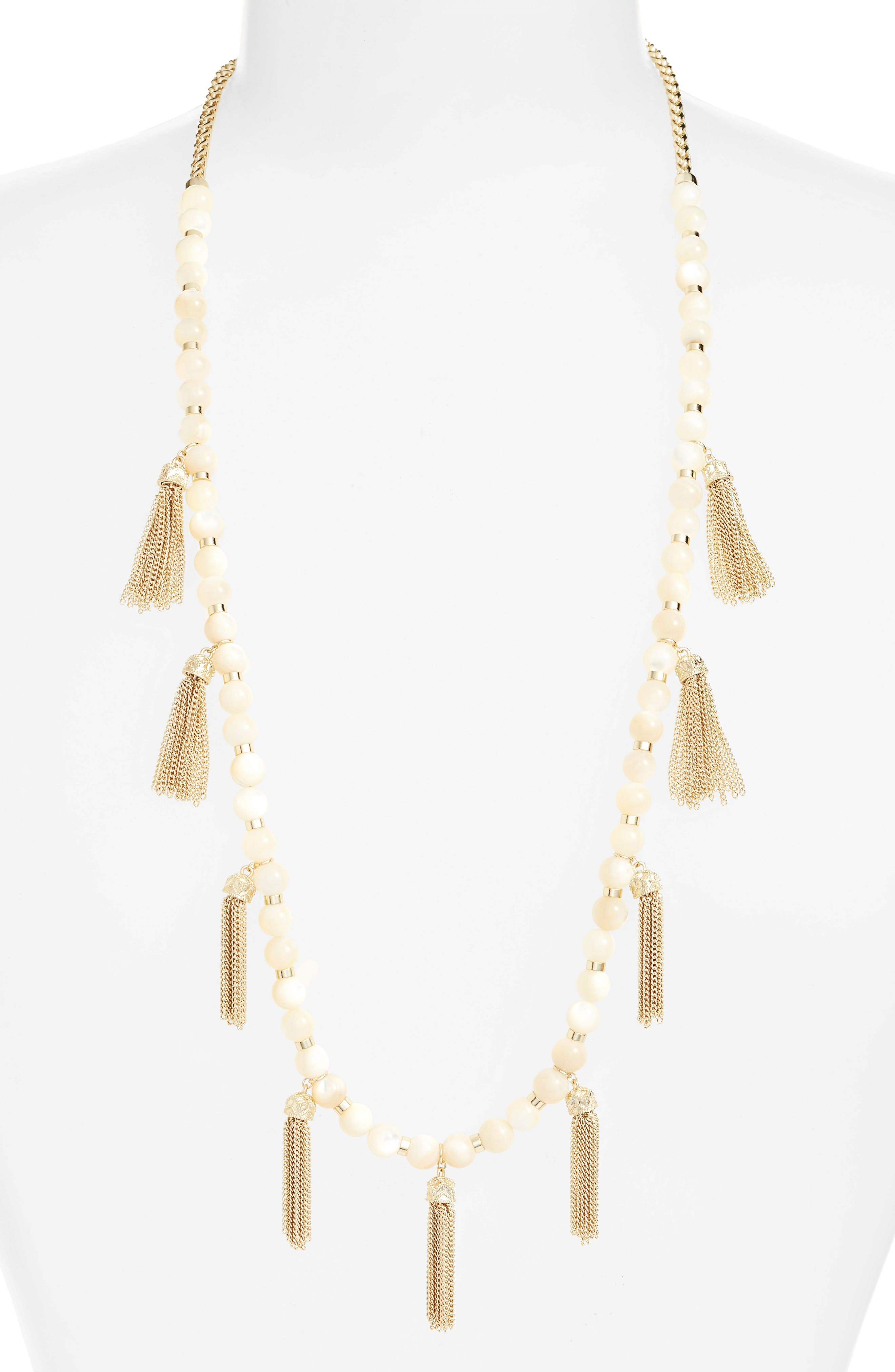 Kendra Scott Vanina Tassel Necklace