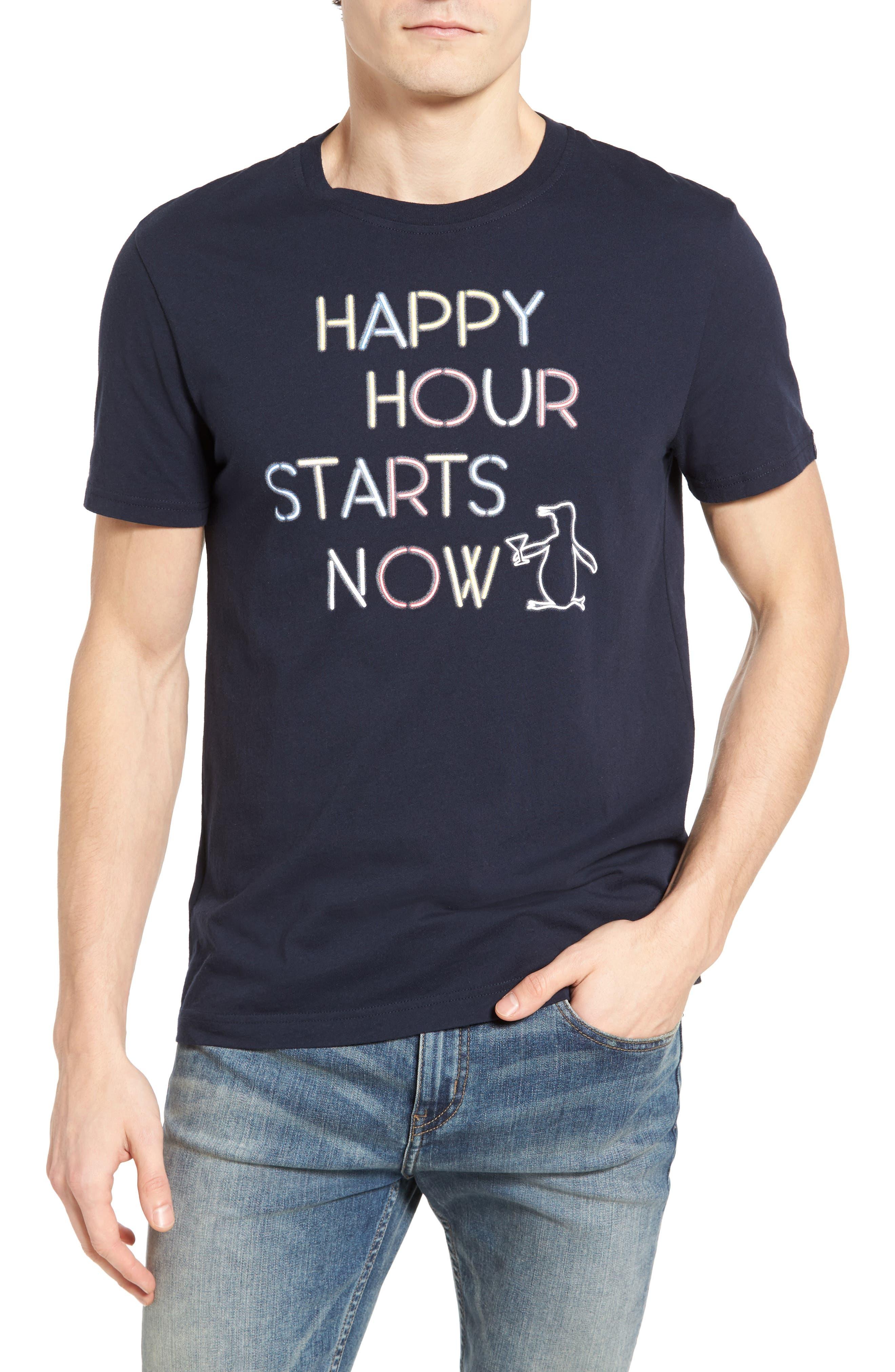Original Penguin Happy Hour Graphic T-Shirt