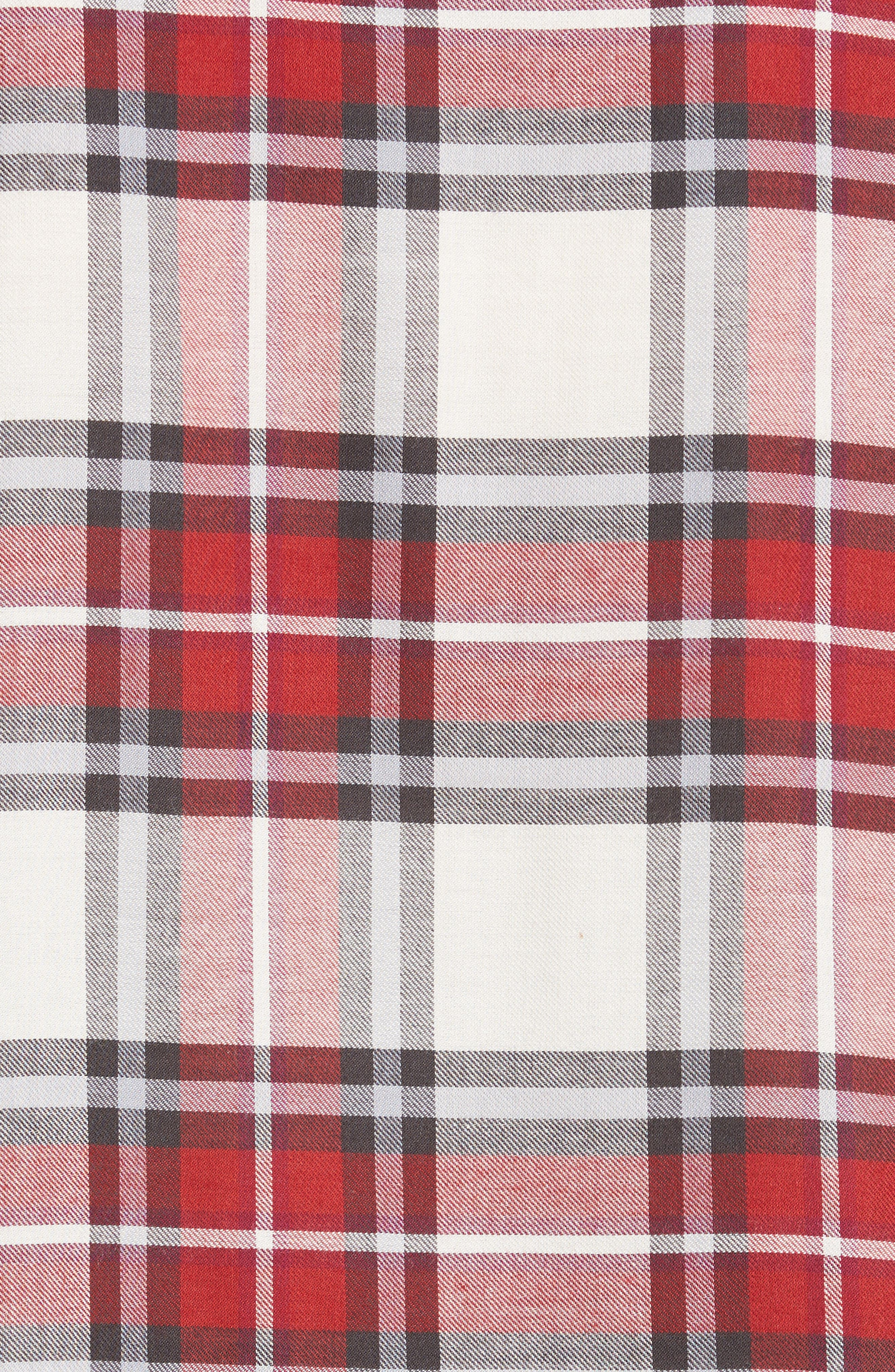 Alternate Image 5  - The Kooples Plaid Flannel Shirt