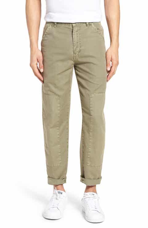 Current/Elliott The Worker Cotton   Linen Pants