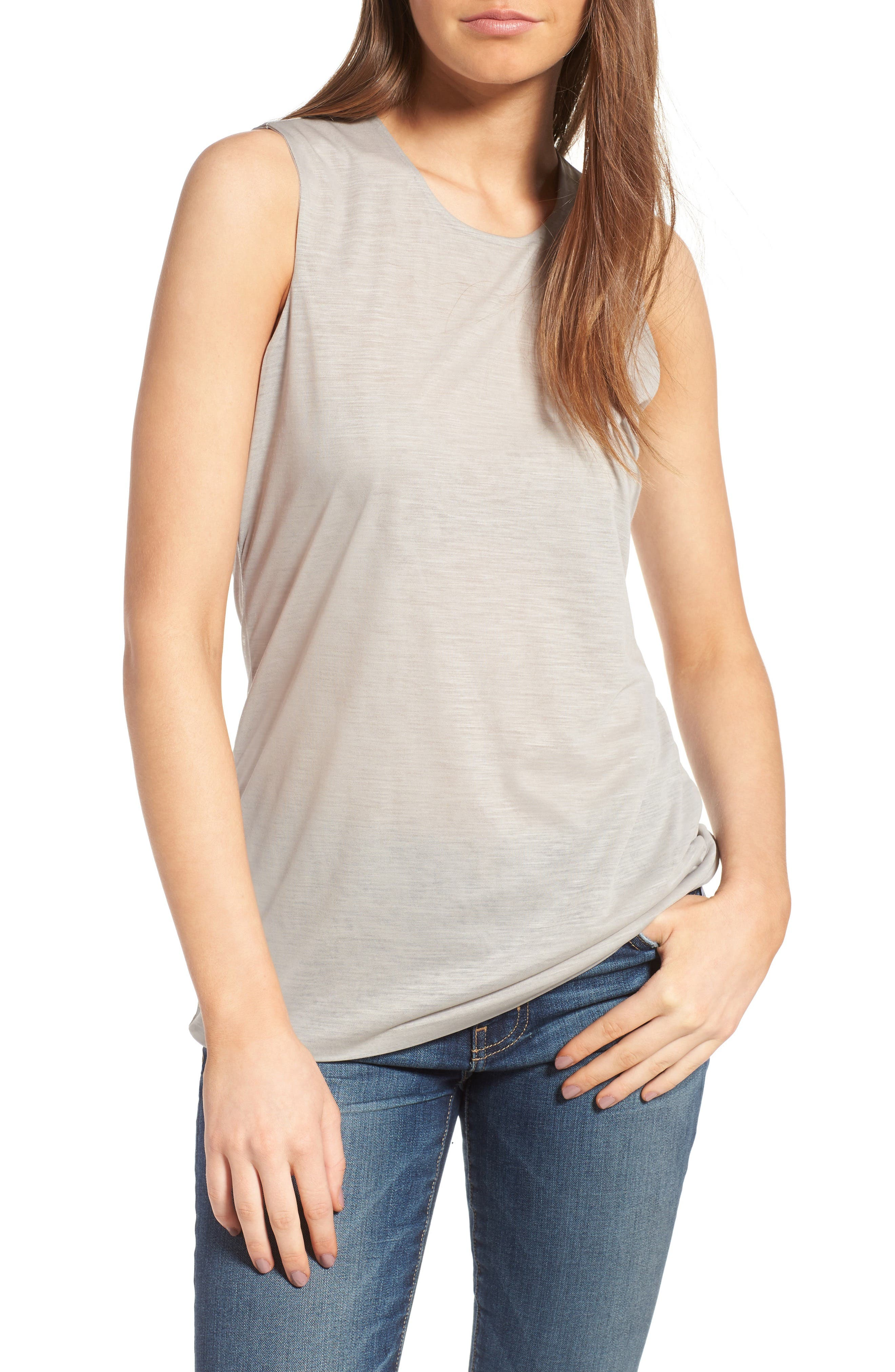 James Perse Tomboy Double Layer Tank