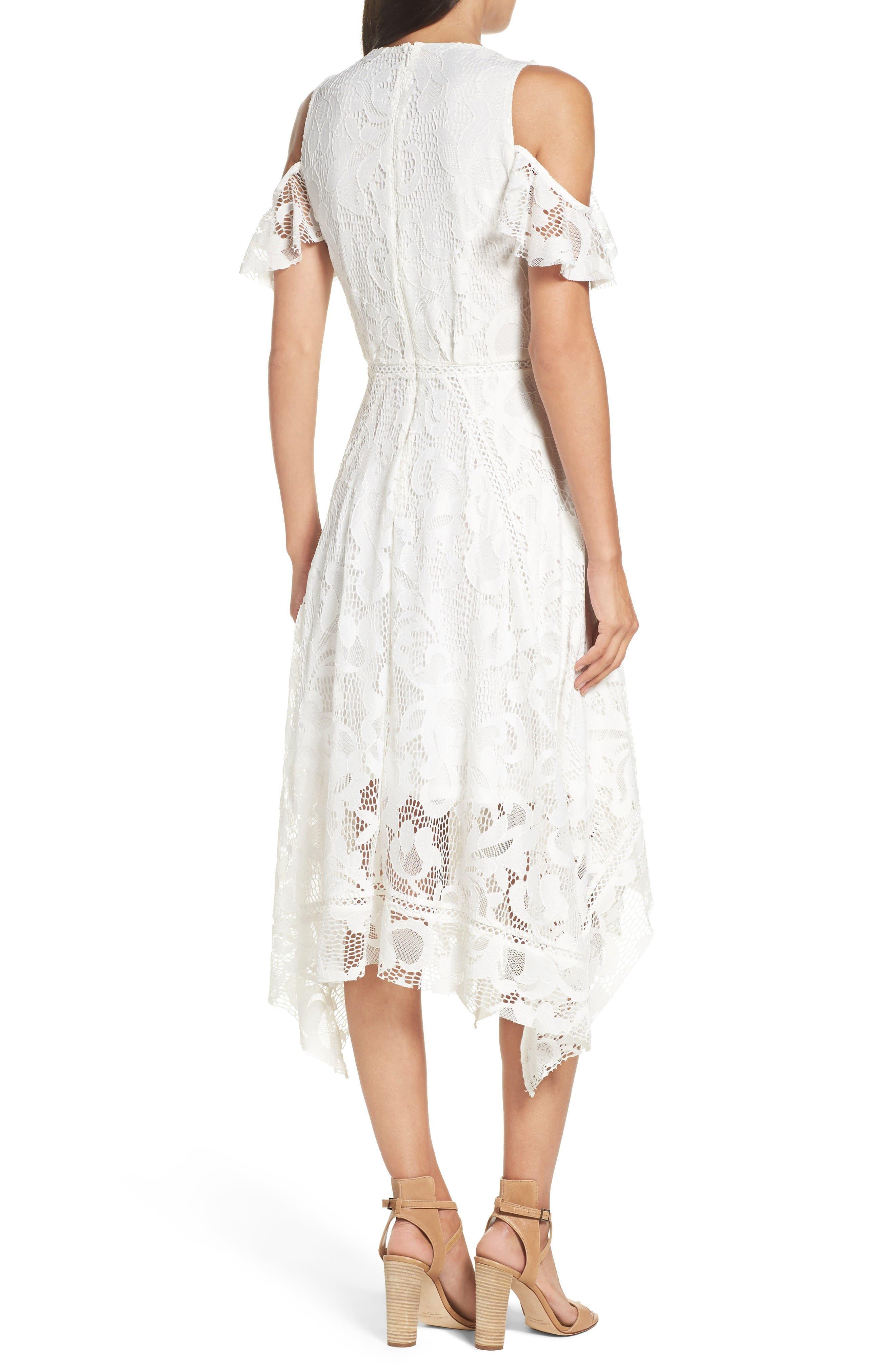 Alternate Image 2  - Taylor Dresses Alternative Midi Dress