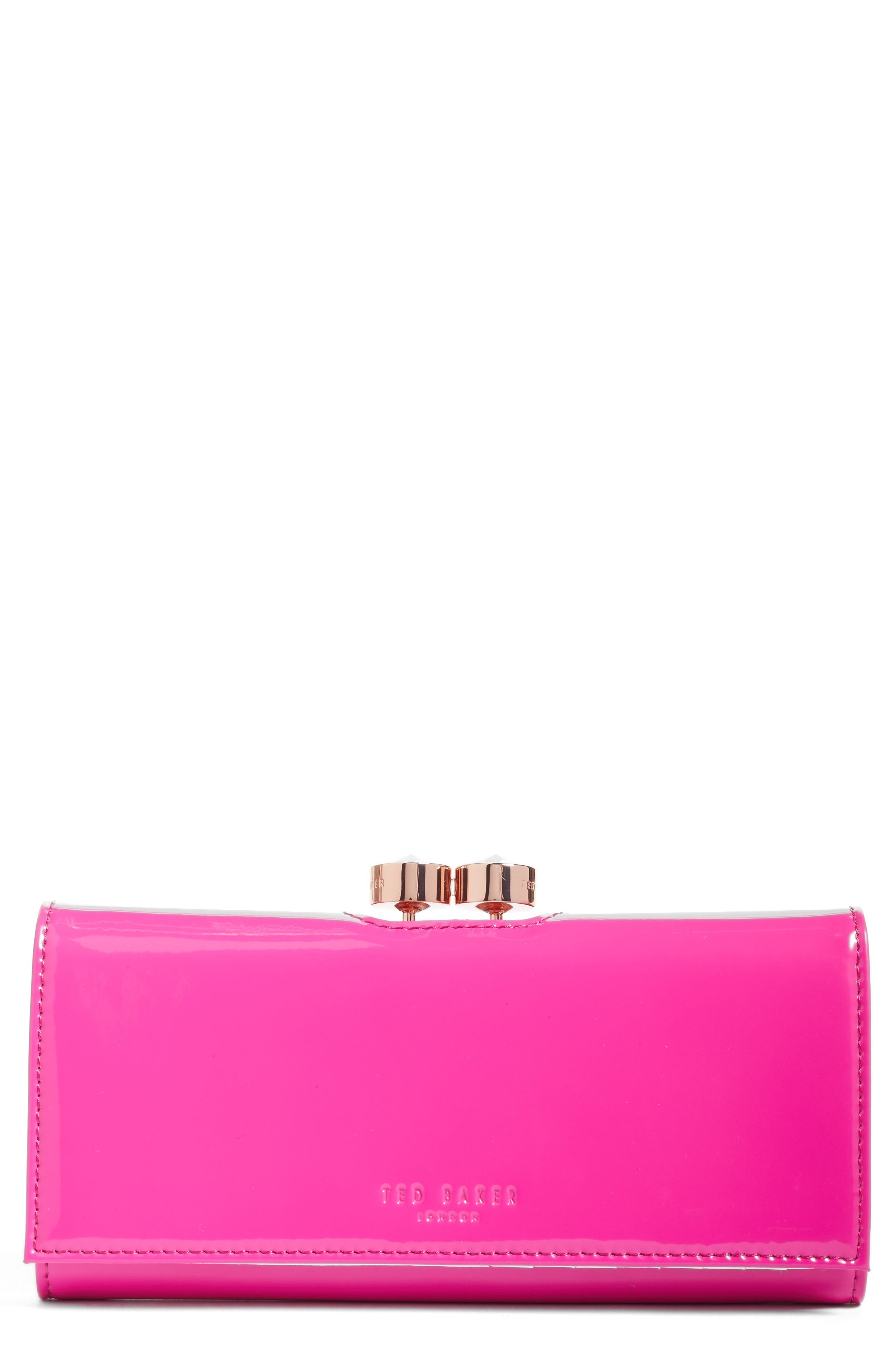 Alternate Image 1 Selected - Ted Baker London Merlow Leather Matinée Wallet (Nordstrom Exclusive)