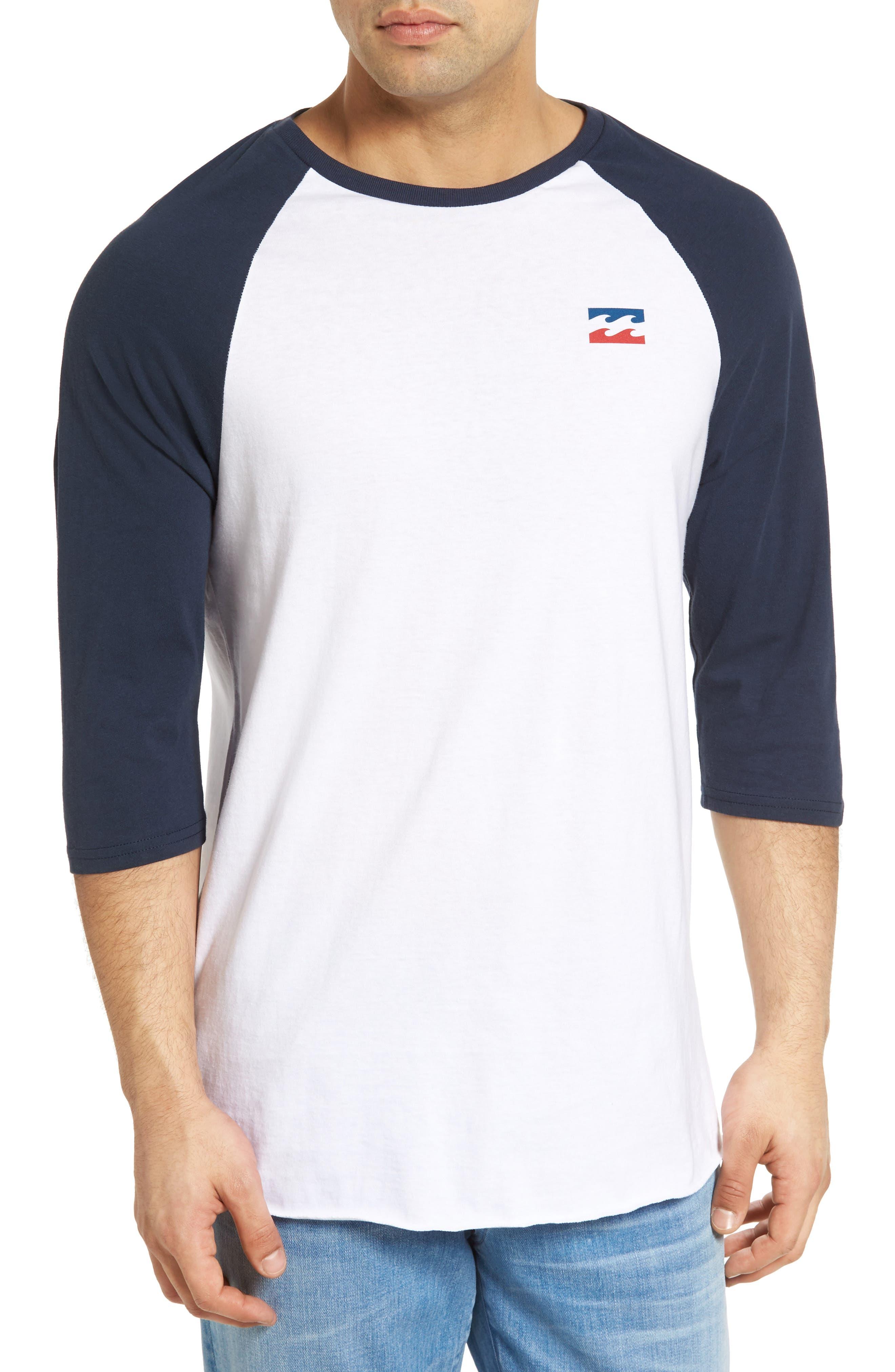 Billabong Freedom Graphic Raglan T-Shirt
