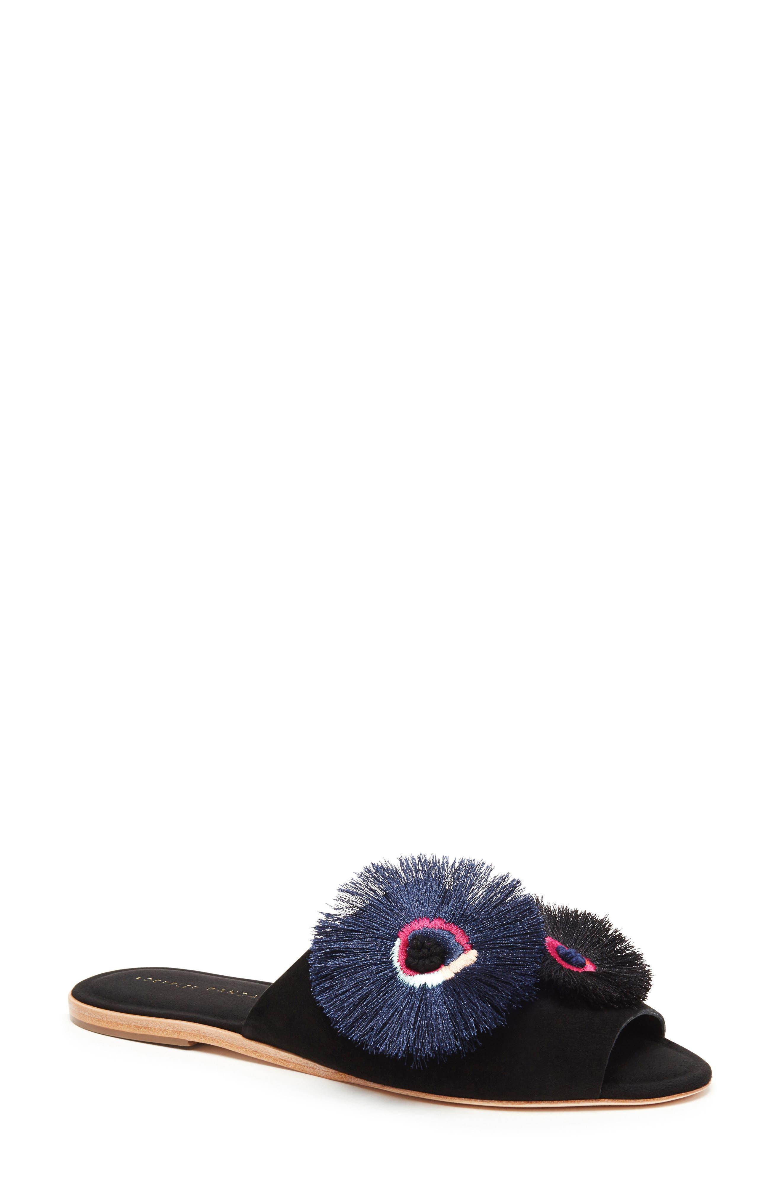 Alternate Image 1 Selected - Loeffler Randall Kiki Flower Slide Sandal (Women)