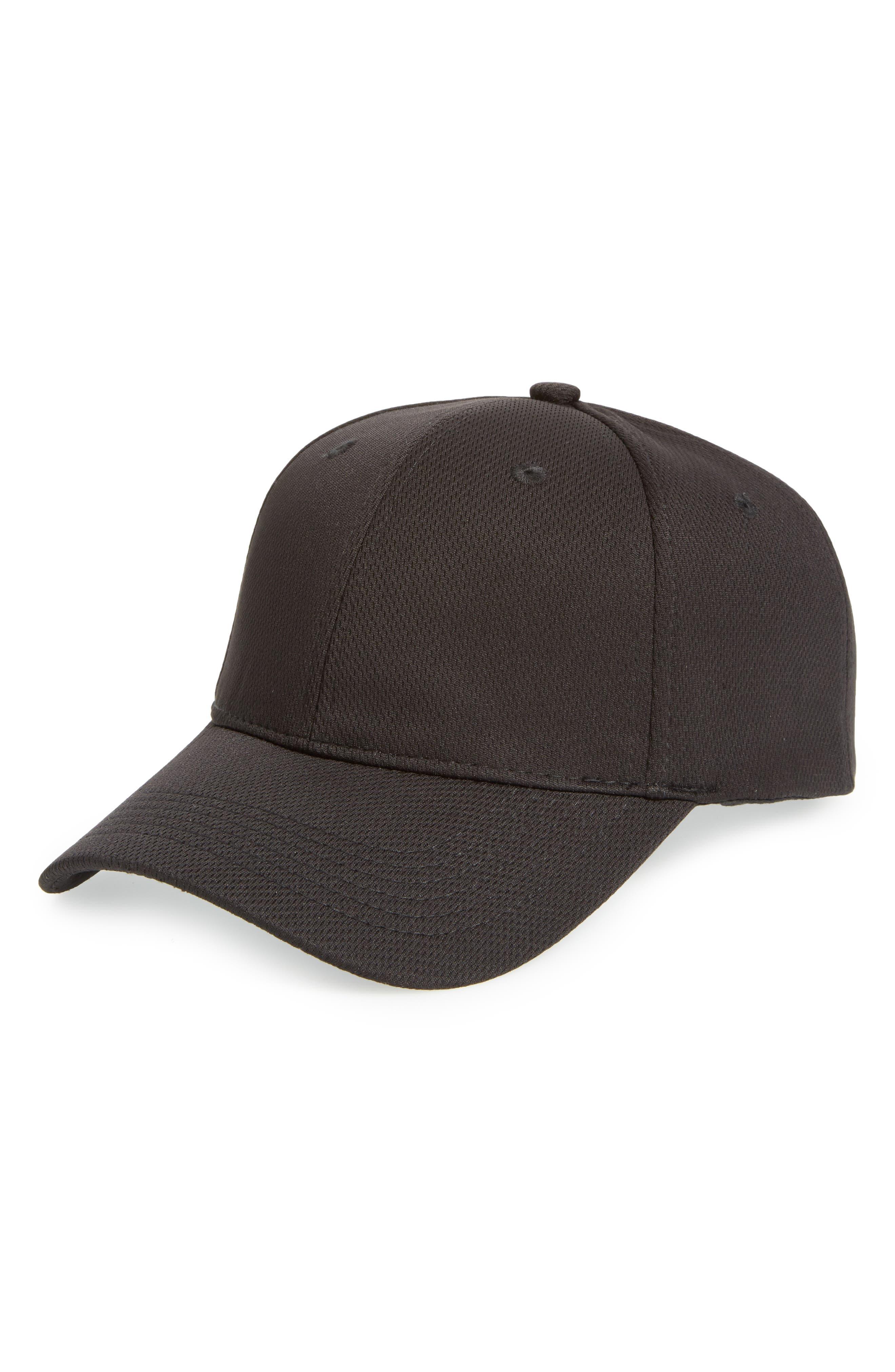 Alternate Image 1 Selected - Topshop Airtex Peak Baseball Cap