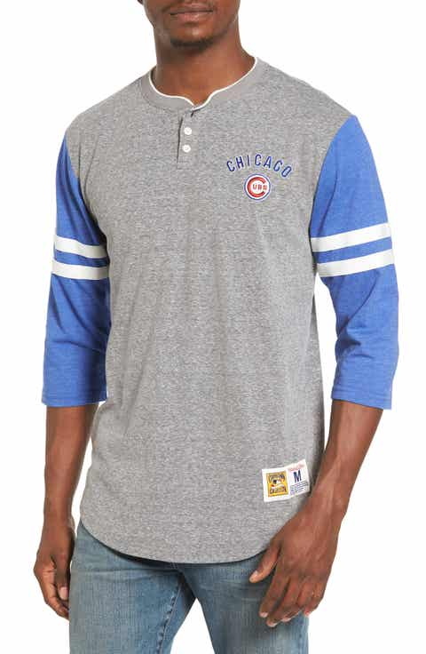 Mitchell   Ness Home Stretch - Chicago Cubs Henley