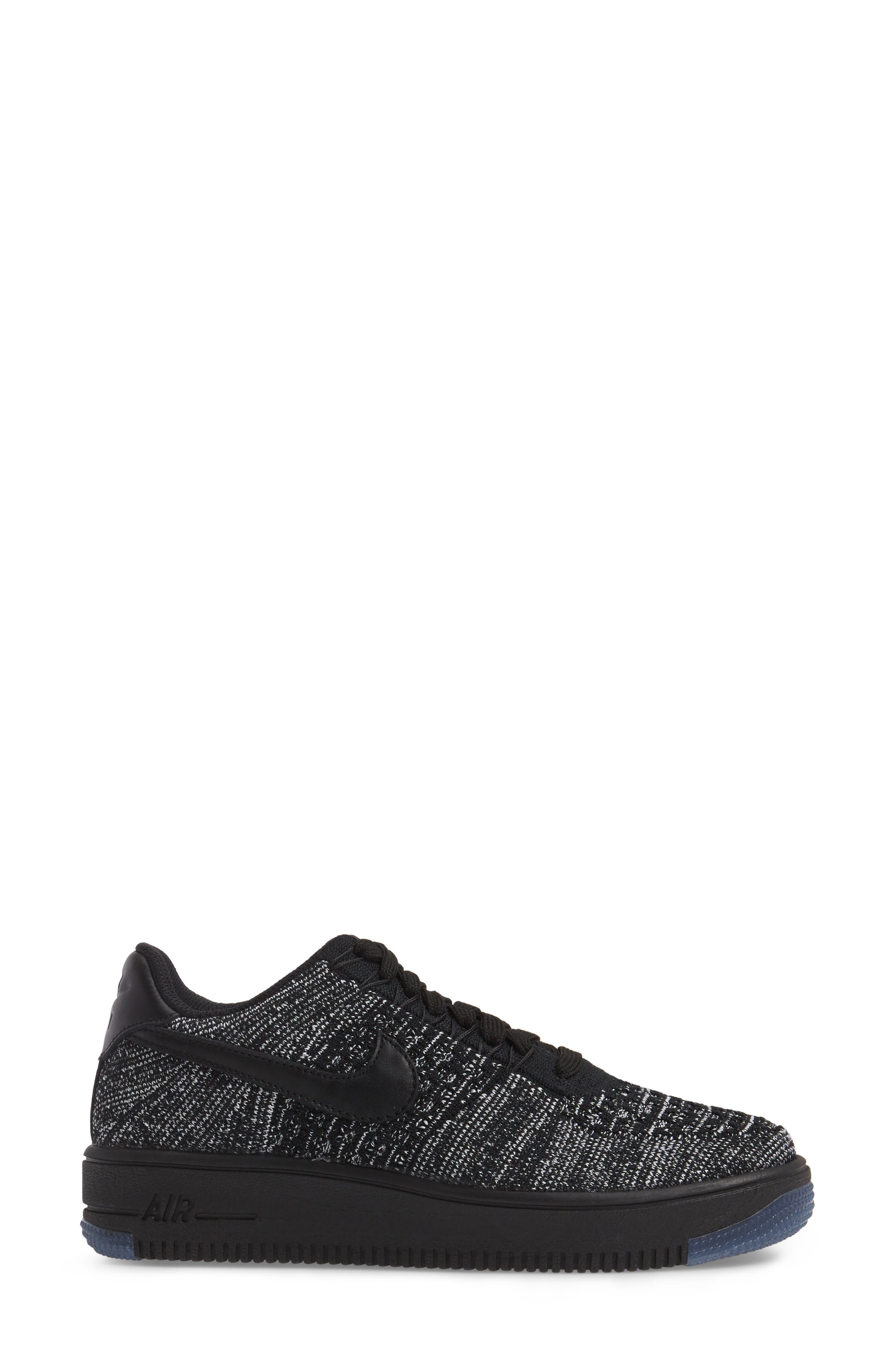 Alternate Image 3  - Nike 'Air Force 1 Flyknit Low' Sneaker (Women)