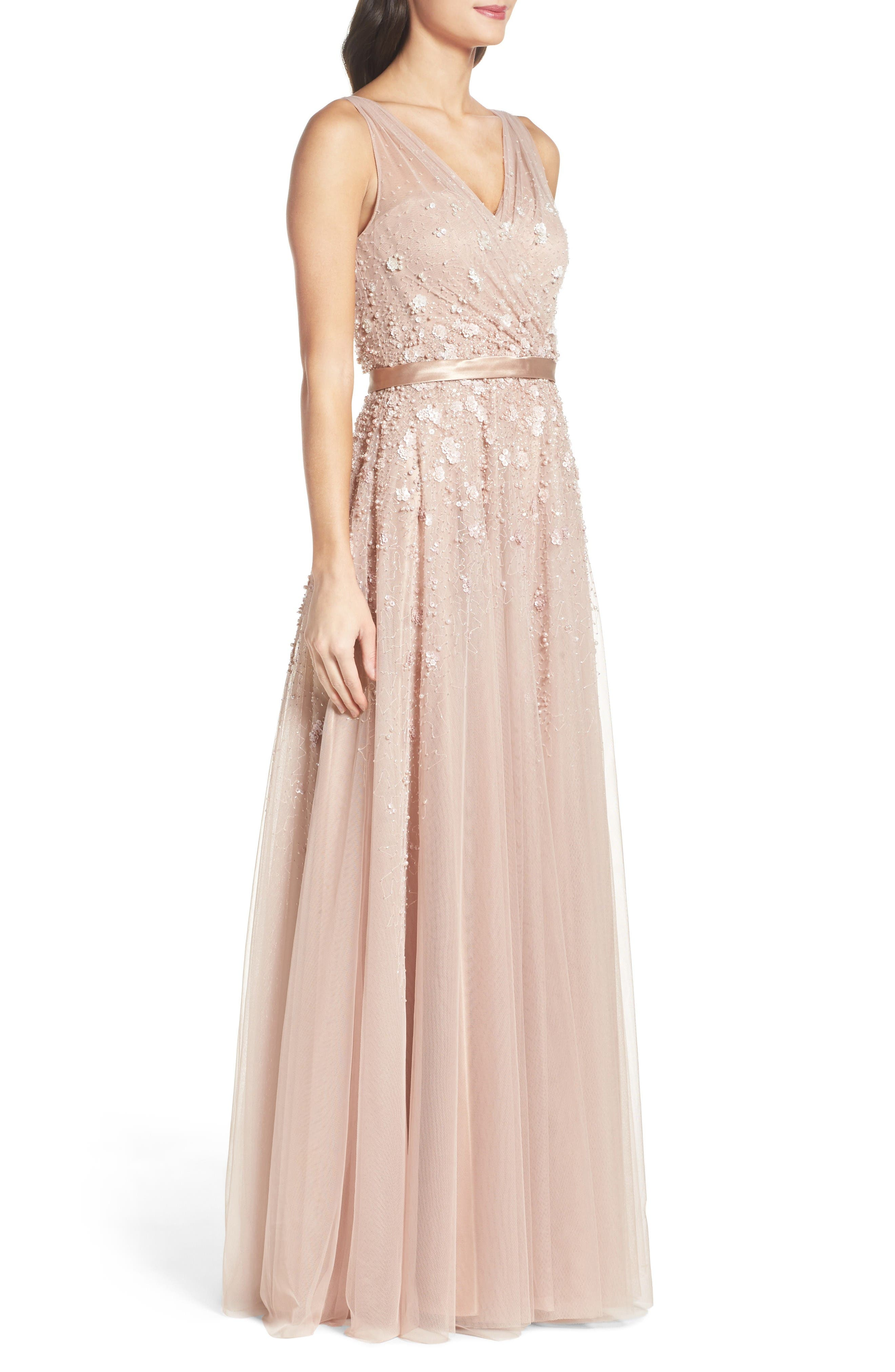 Alternate Image 3  - Mac Duggal Embellished Mesh Gown