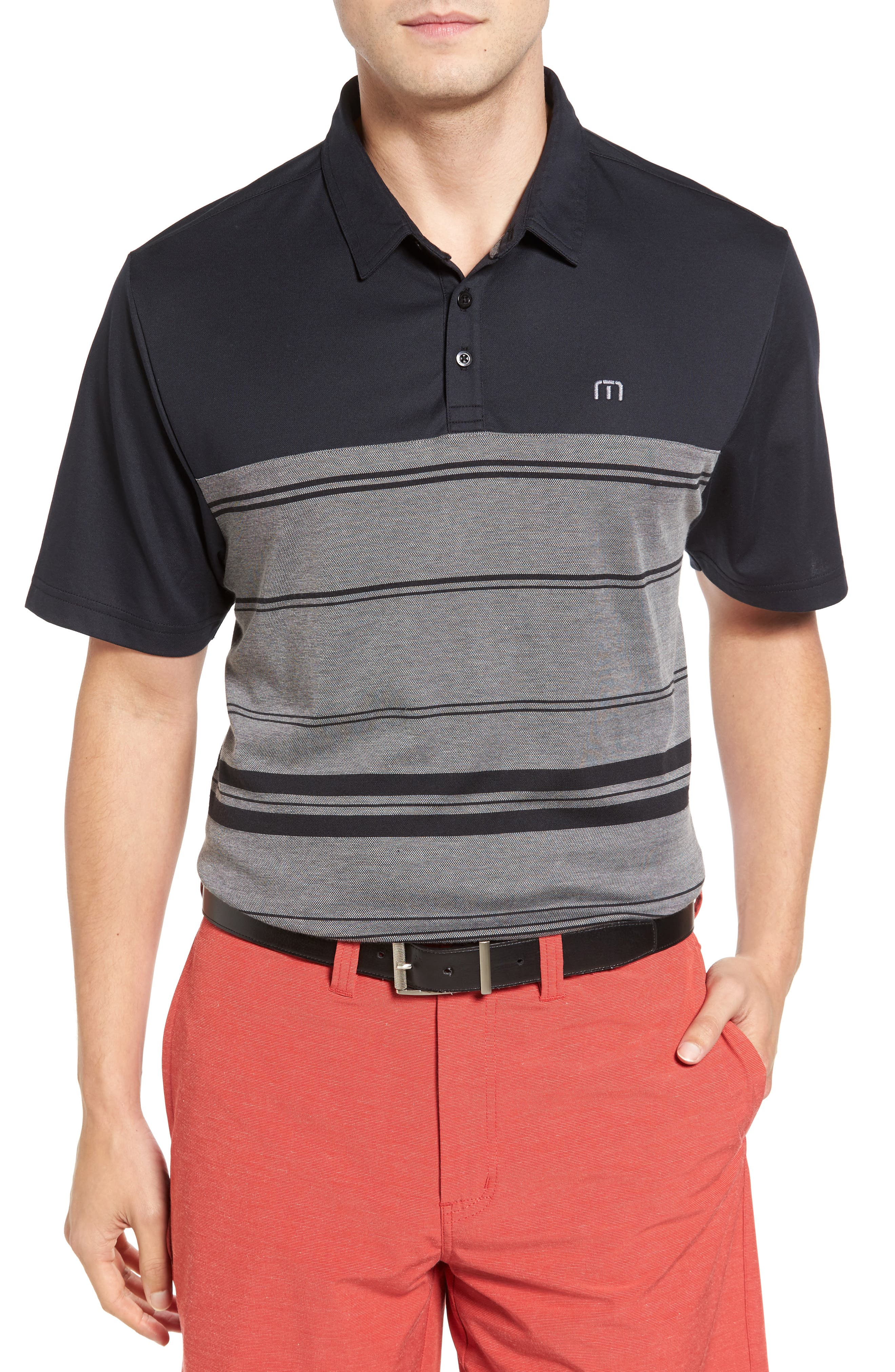 Travis Mathew Jordy Trim Fit Polo