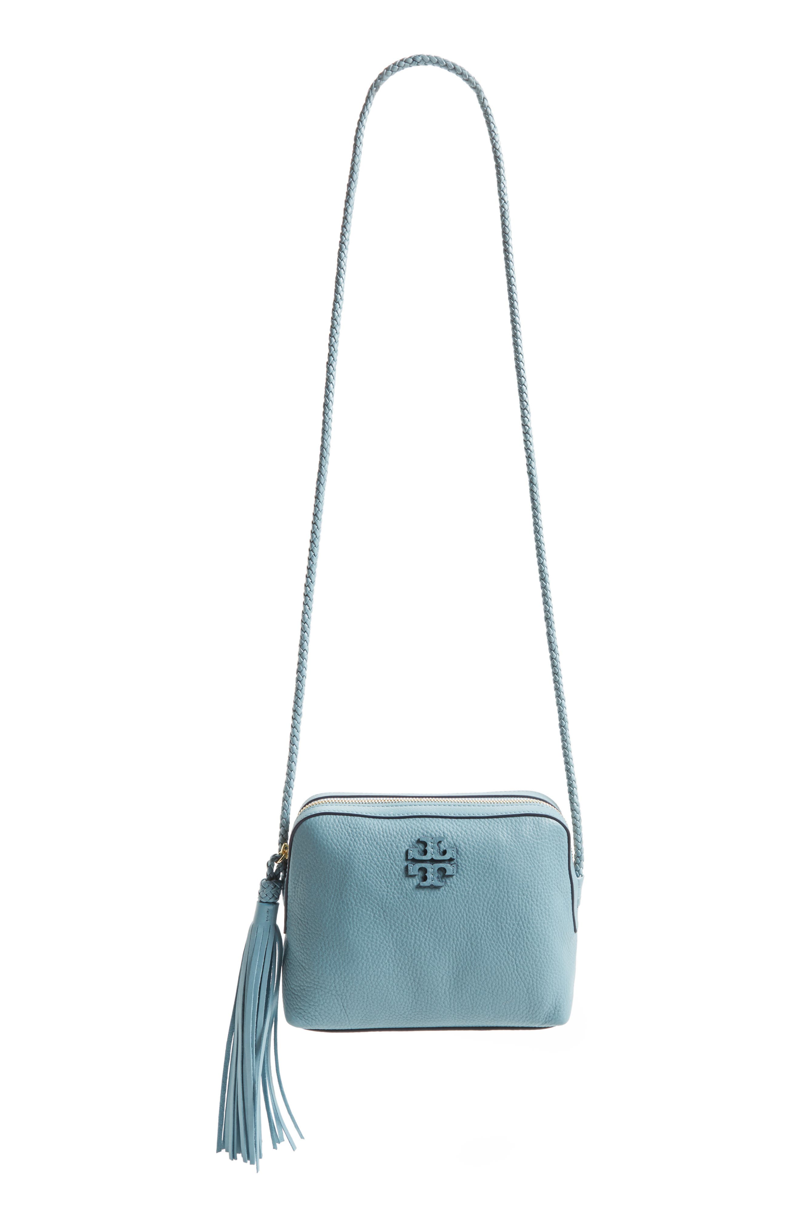 Alternate Image 1 Selected - Tory Burch Taylor Leather Camera Bag