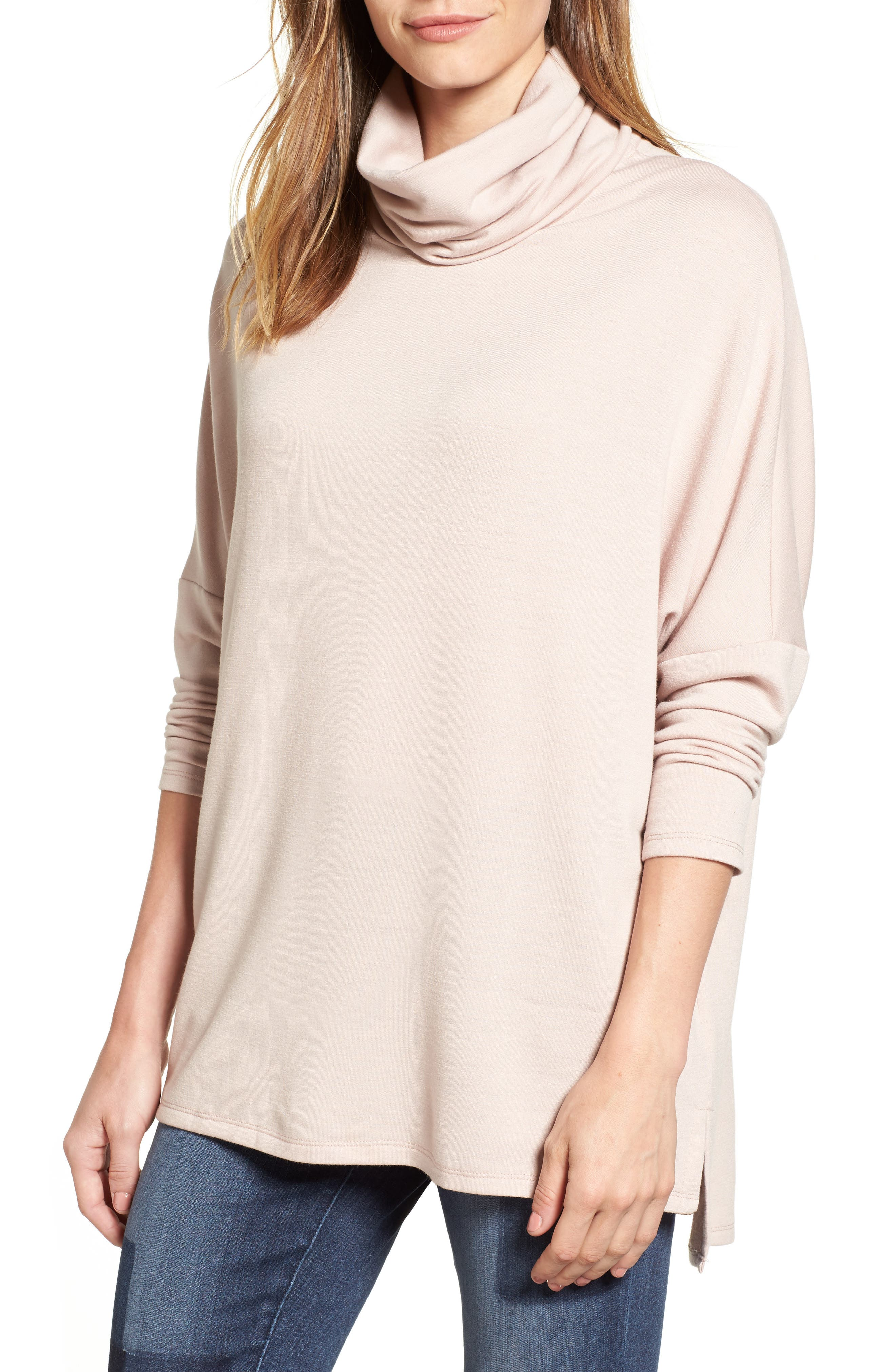 Caslon® High/Low Tunic (Regular & Petite)