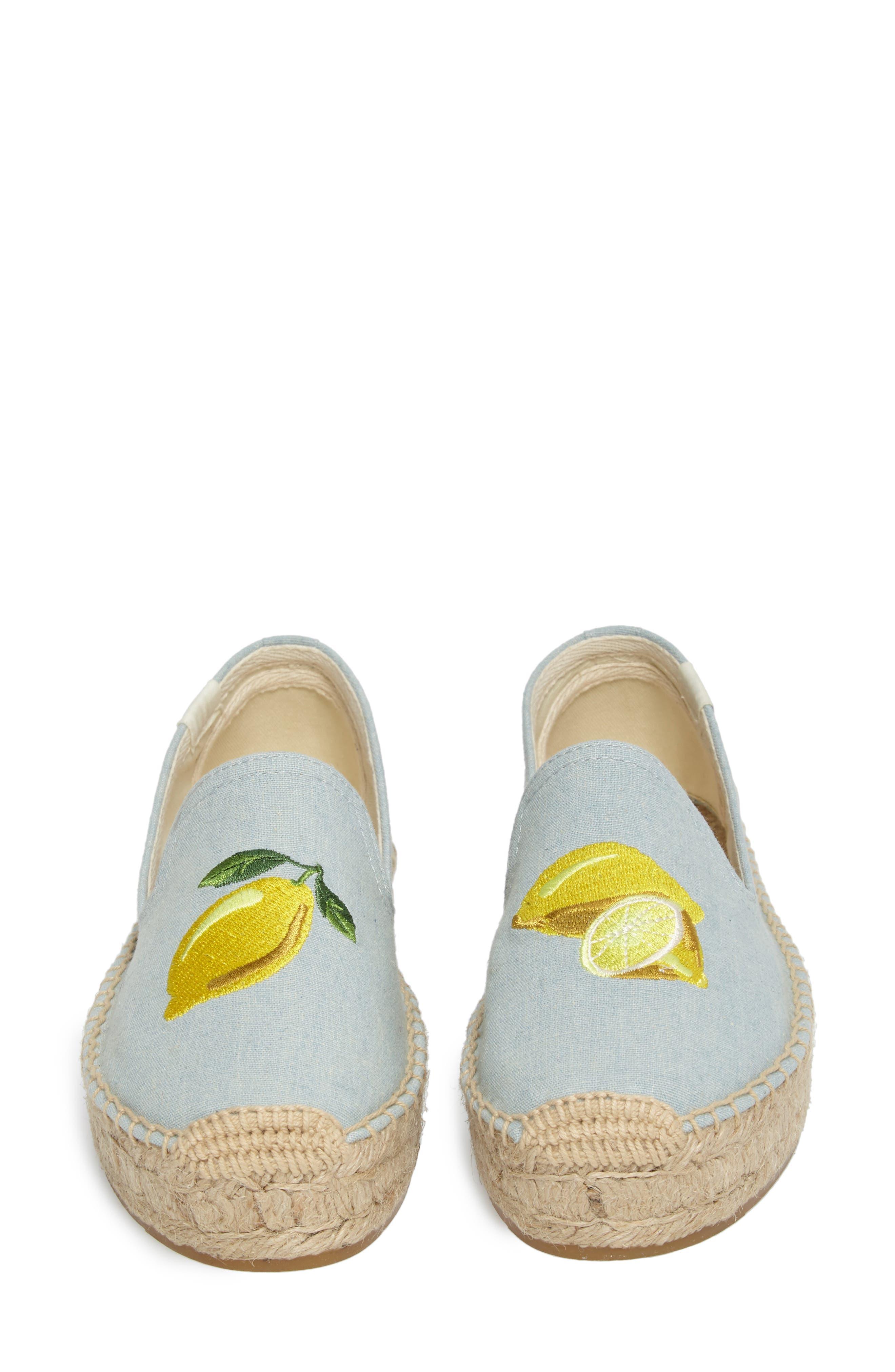 Alternate Image 5  - Soludos Lemon Espadrille Flat (Women)