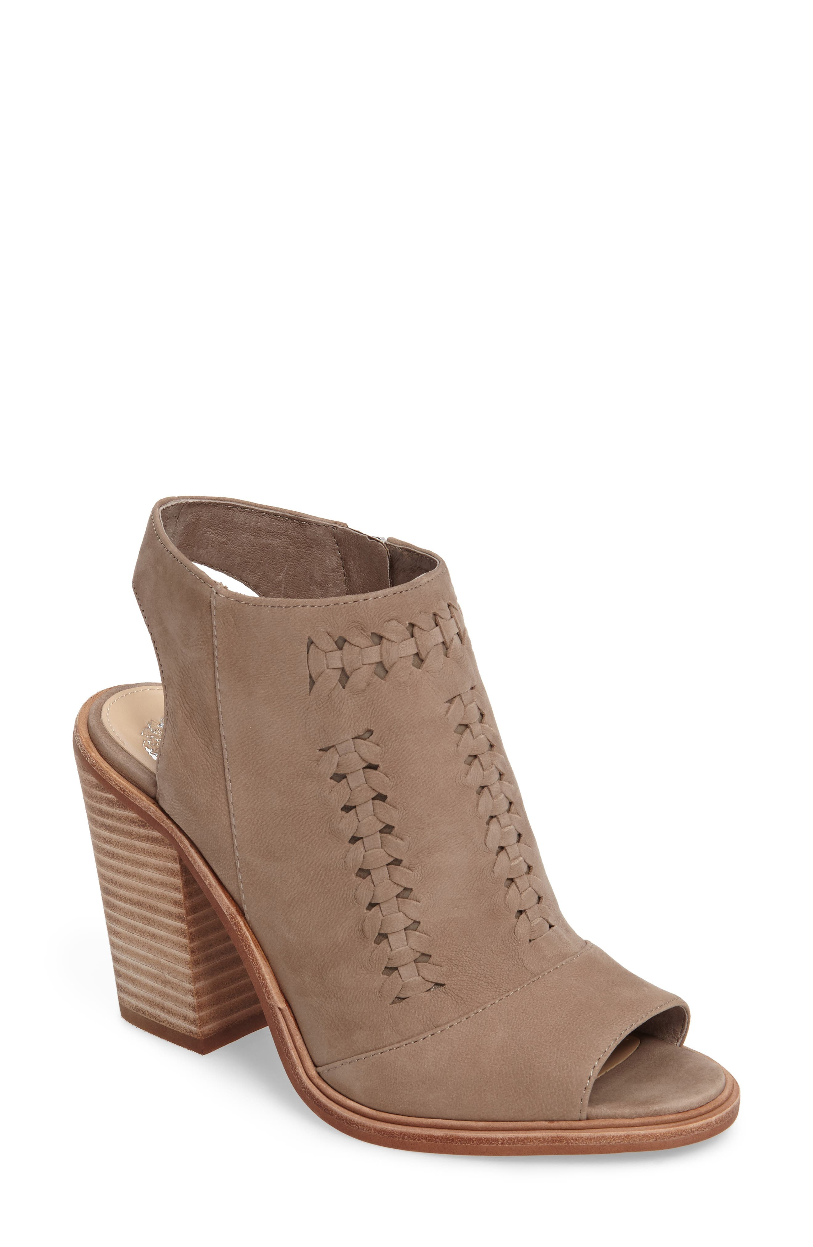 Main Image - Vince Camuto Katri Woven Bootie (Women) (Nordstrom Exclusive)