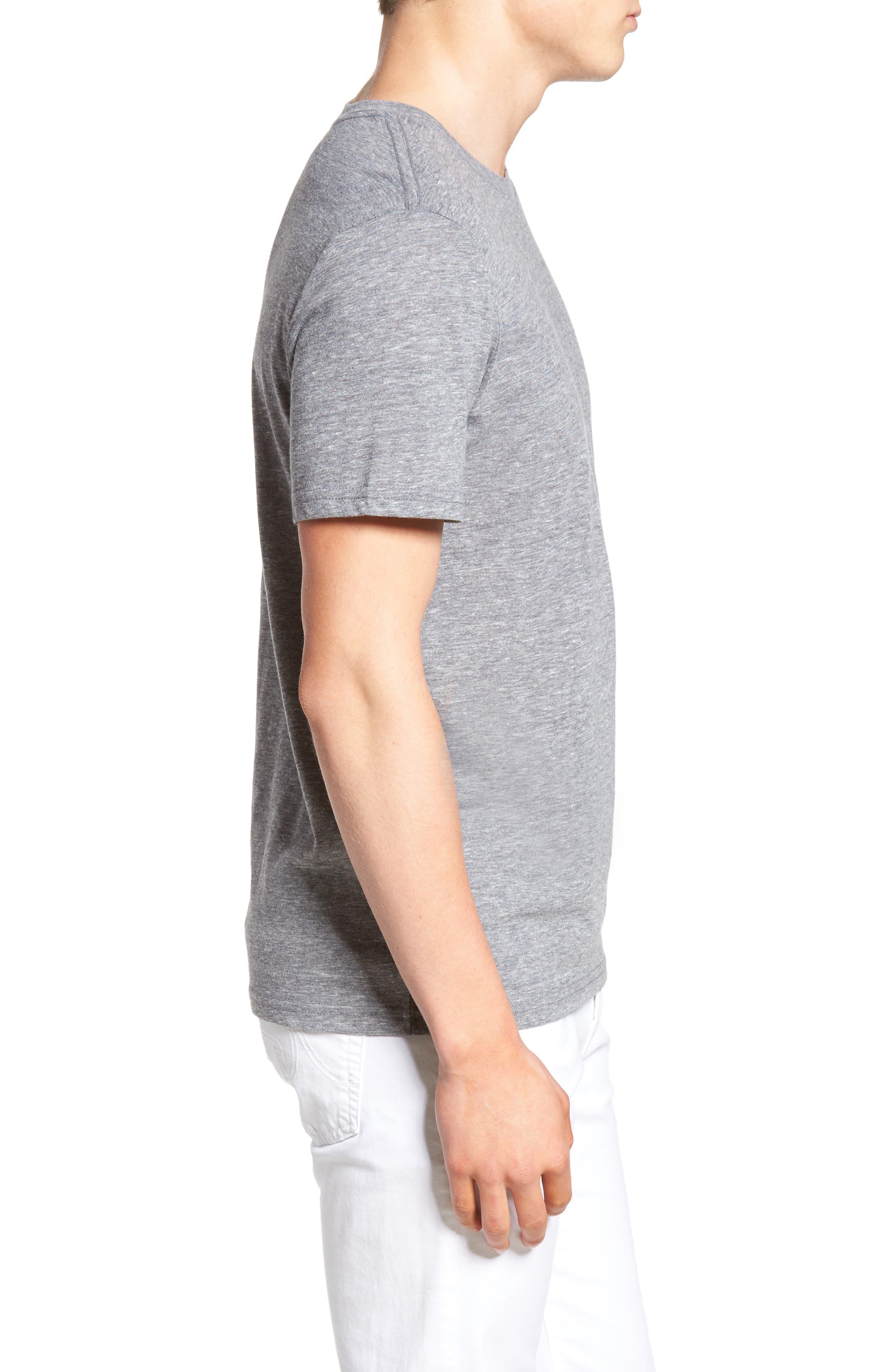 Alternate Image 3  - The Rail Slim Fit Crewneck T-Shirt
