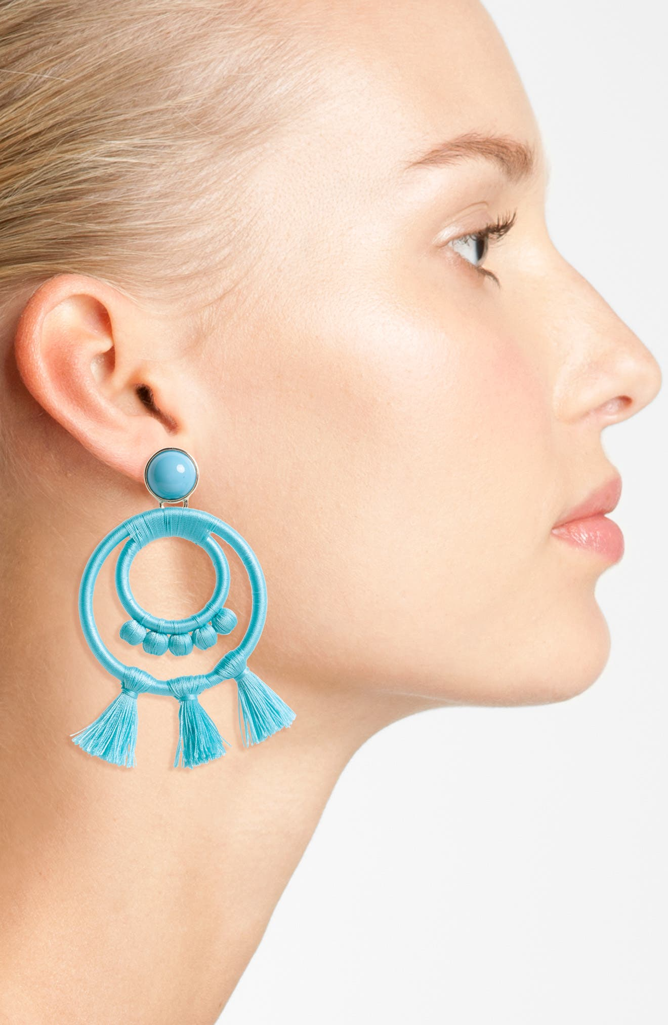 Alternate Image 2  - BaubleBar Romany Drop Earrings