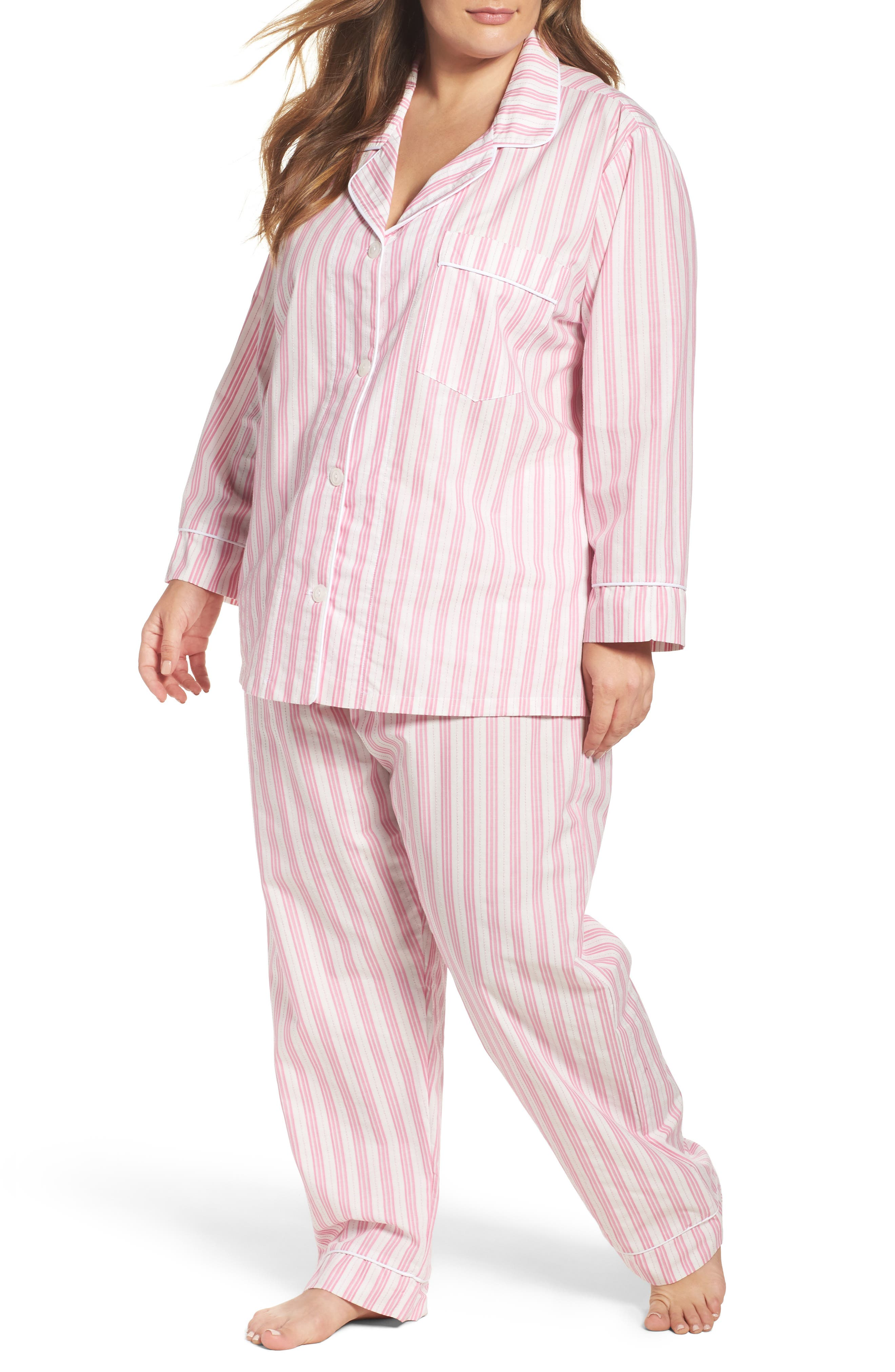 BedHead Stripe Classic Pajamas (Plus Size)