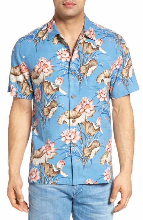 Tommy Bahama Adriatic Garden Silk Blend Camp Shirt