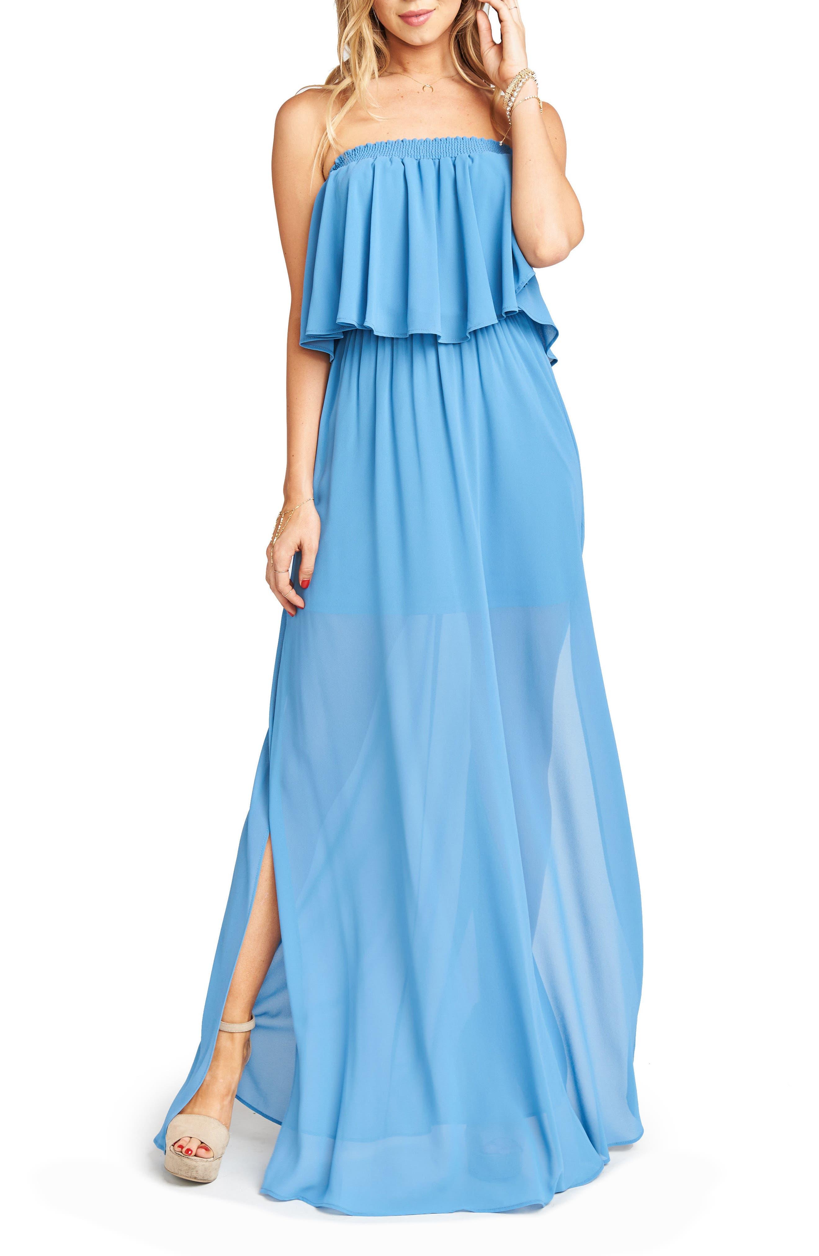 Alternate Image 3  - Show Me Your Mumu Hacienda Convertible Gown