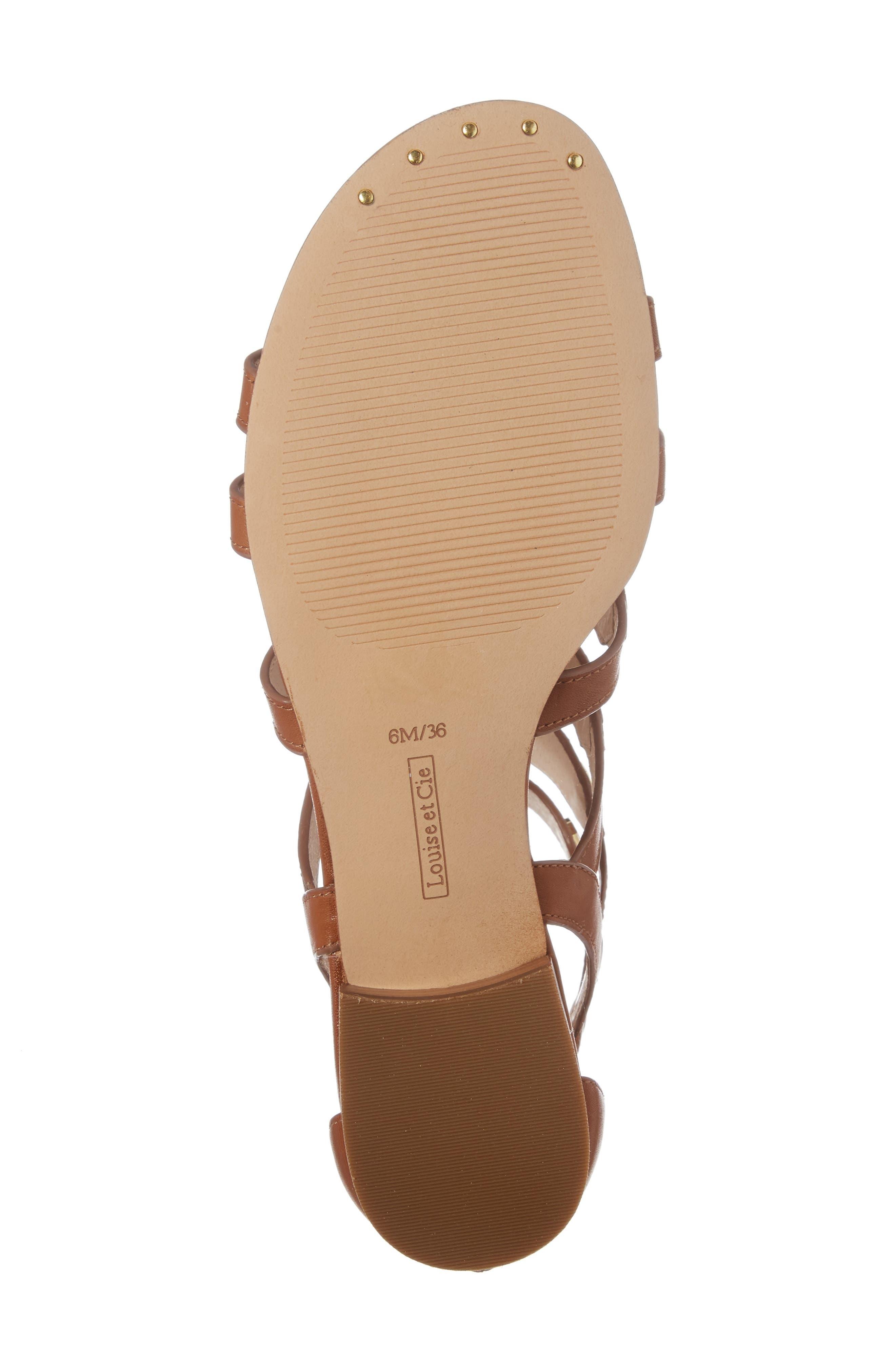 Alternate Image 6  - Louise et Cie Aria Studded Gladiator Sandal (Women)