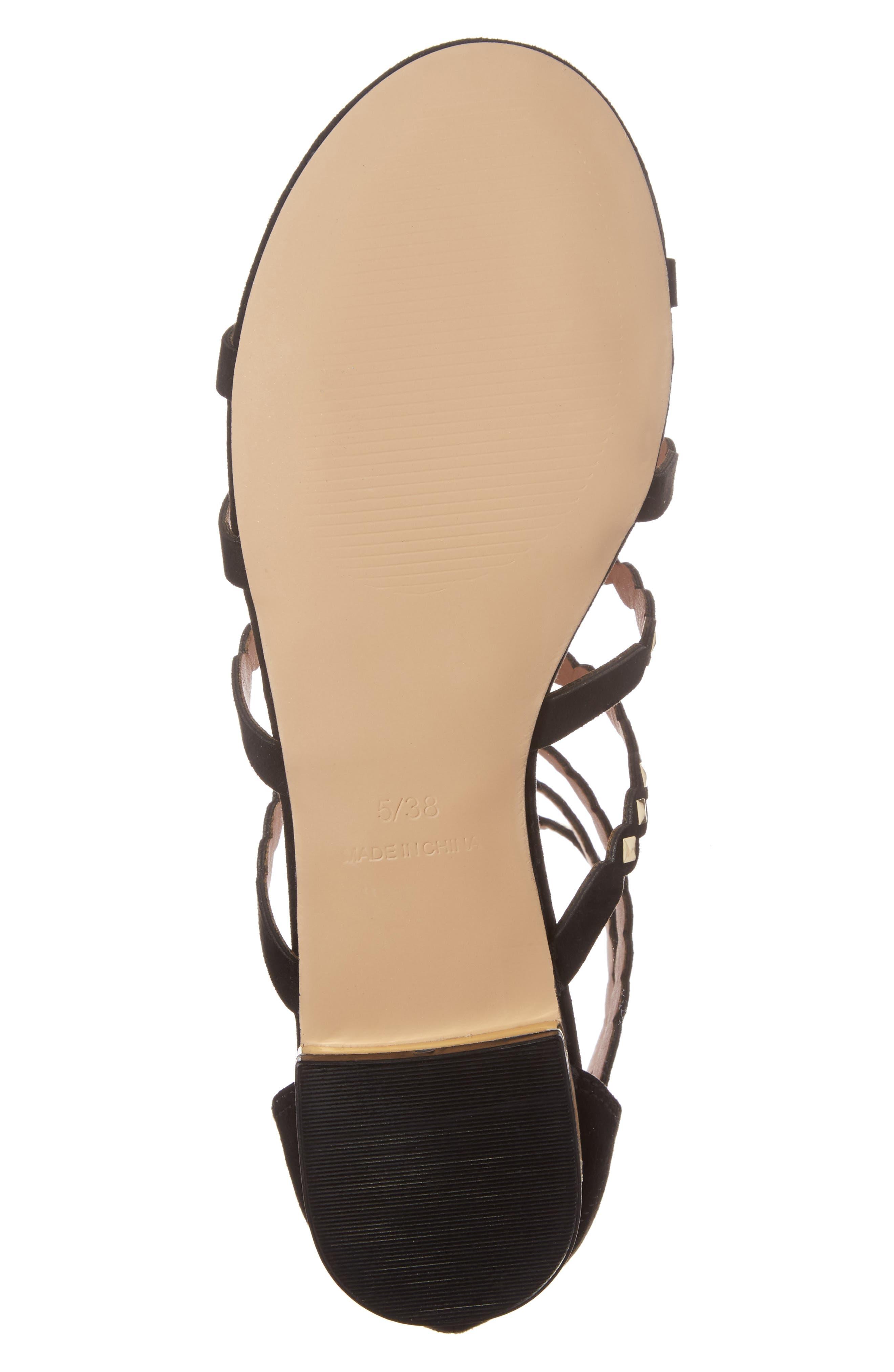 Alternate Image 4  - Topshop Higher Stud Gladiator Sandal (Women)
