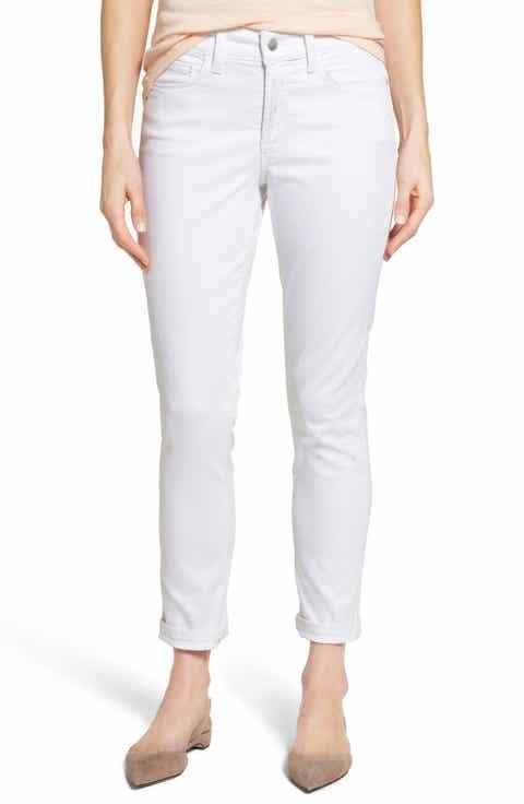 White High Rise Jeans & Denim for Women: Skinny, Boyfriend & More ...