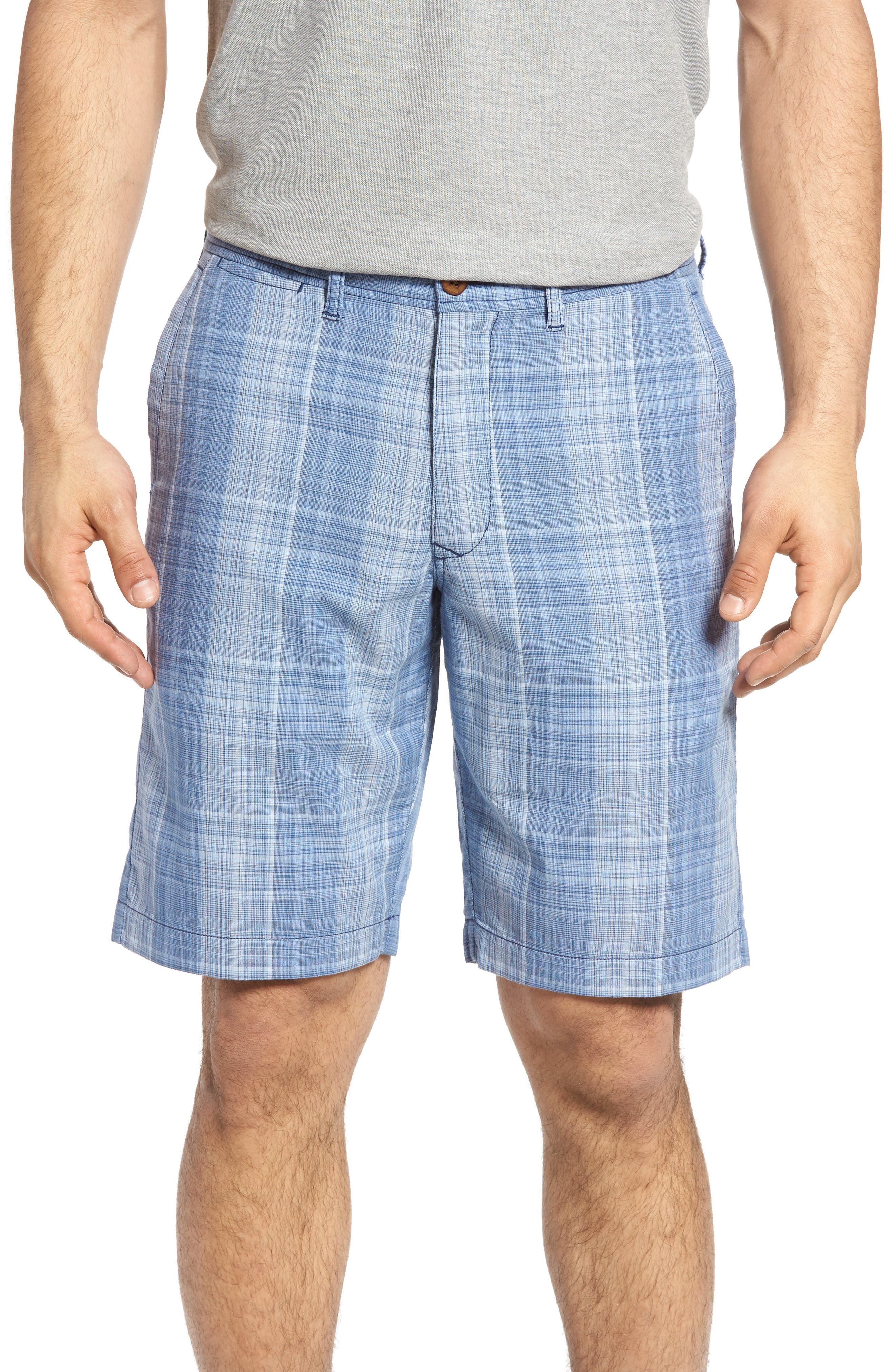 Tommy Bahama Dayboard Plaid Shorts (Regular & Big)