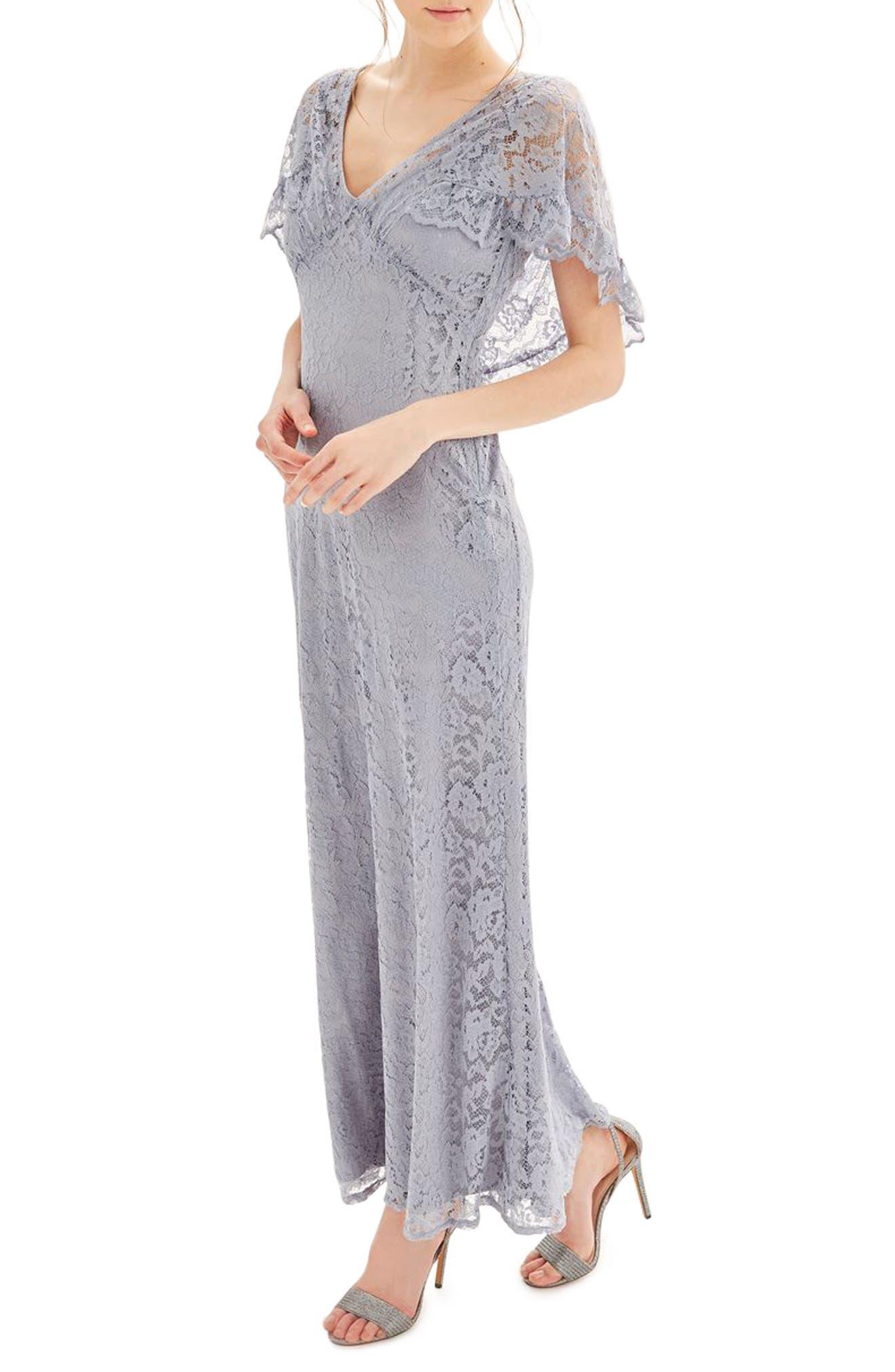 Topshop Bride Caped Gown