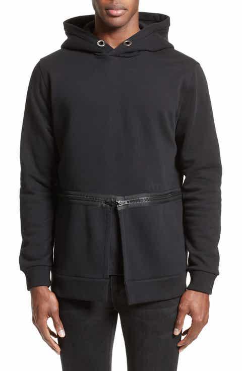 Givenchy Zip Waist Hoodie